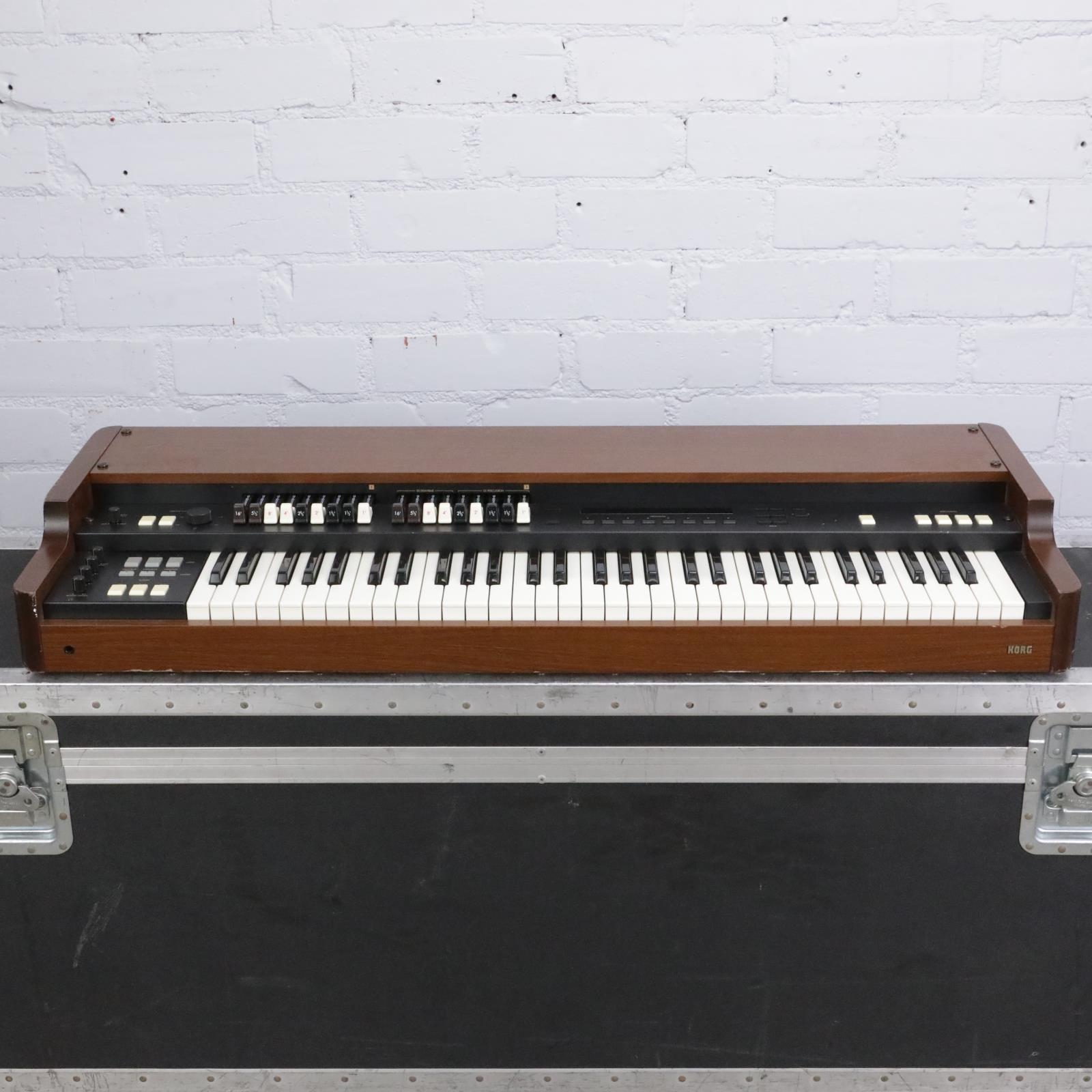 Korg CX-3 Digital Tonewheel Organ w/ Road Case #42430