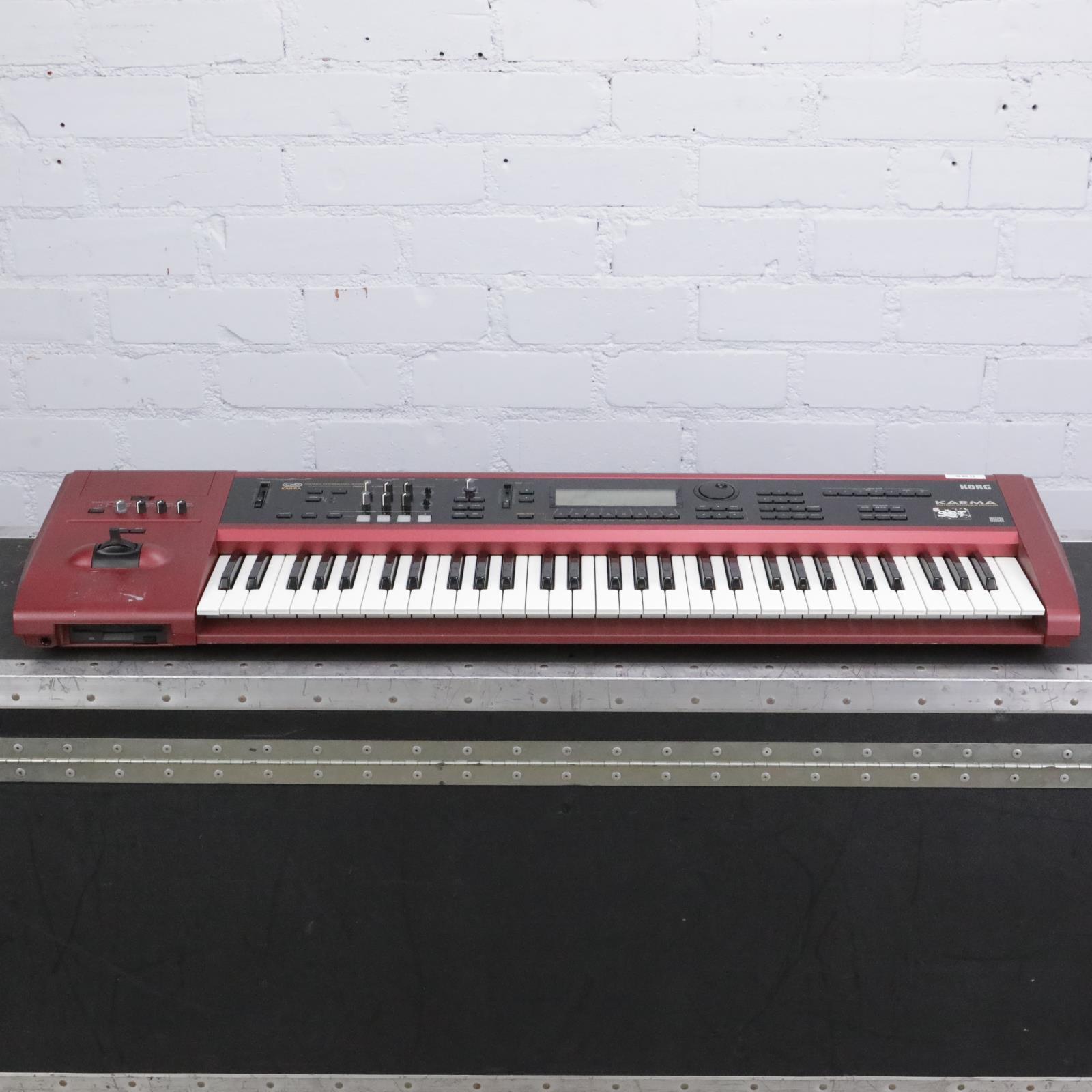 Korg Karma 61-Key Music Workstation Synthesizer w/ A&S Road Case #42424