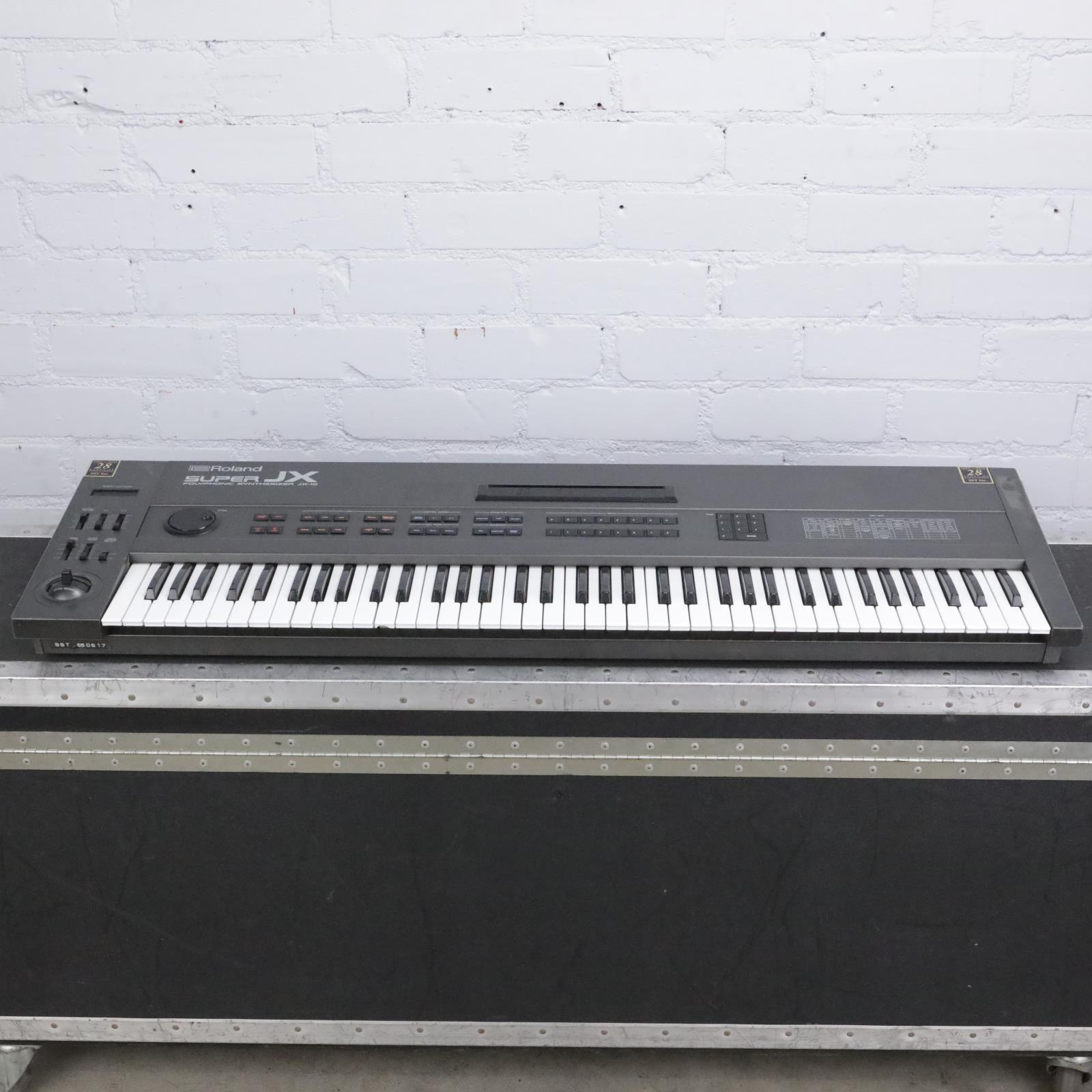 Roland Super JX-10 76-Key Polyphonic Synthesizer w/ A&S Road Case #42429