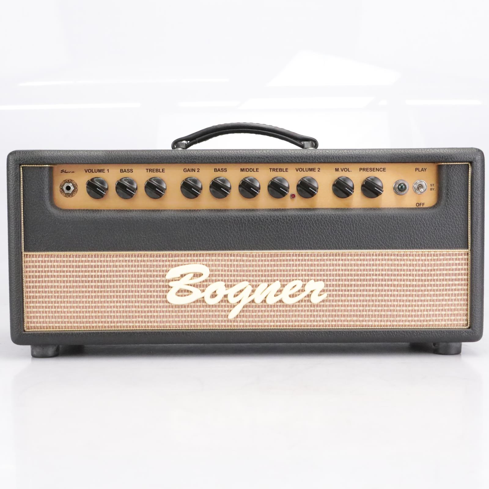 Bogner Shiva 60W 6L6 Tube Guitar Amp Head w/ Road Case & Footswitch #42474