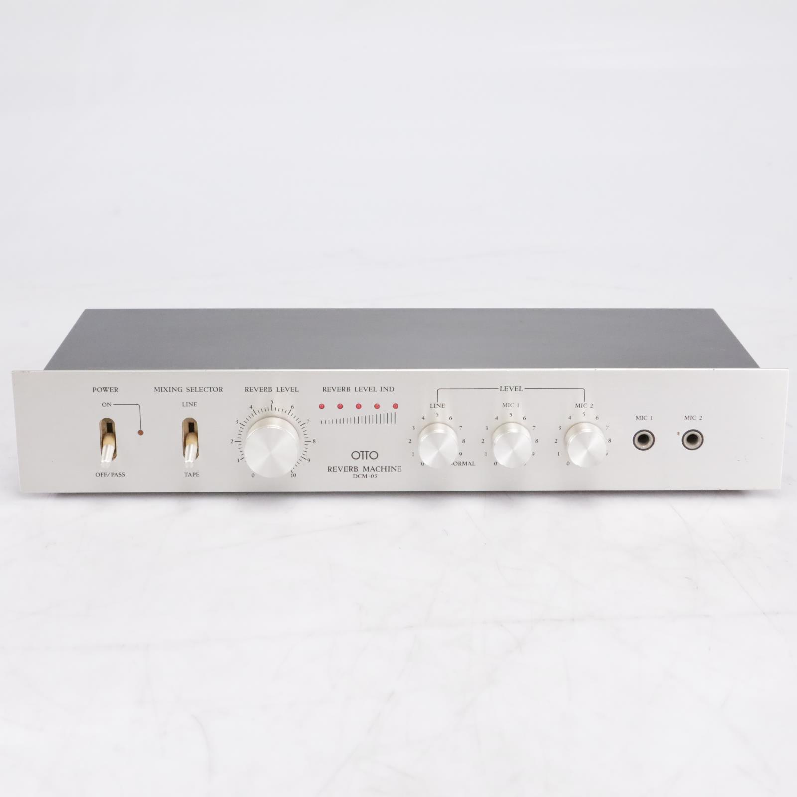 Sanyo Otto DCM-03 Reverb Machine 70s Karaoke System #42510