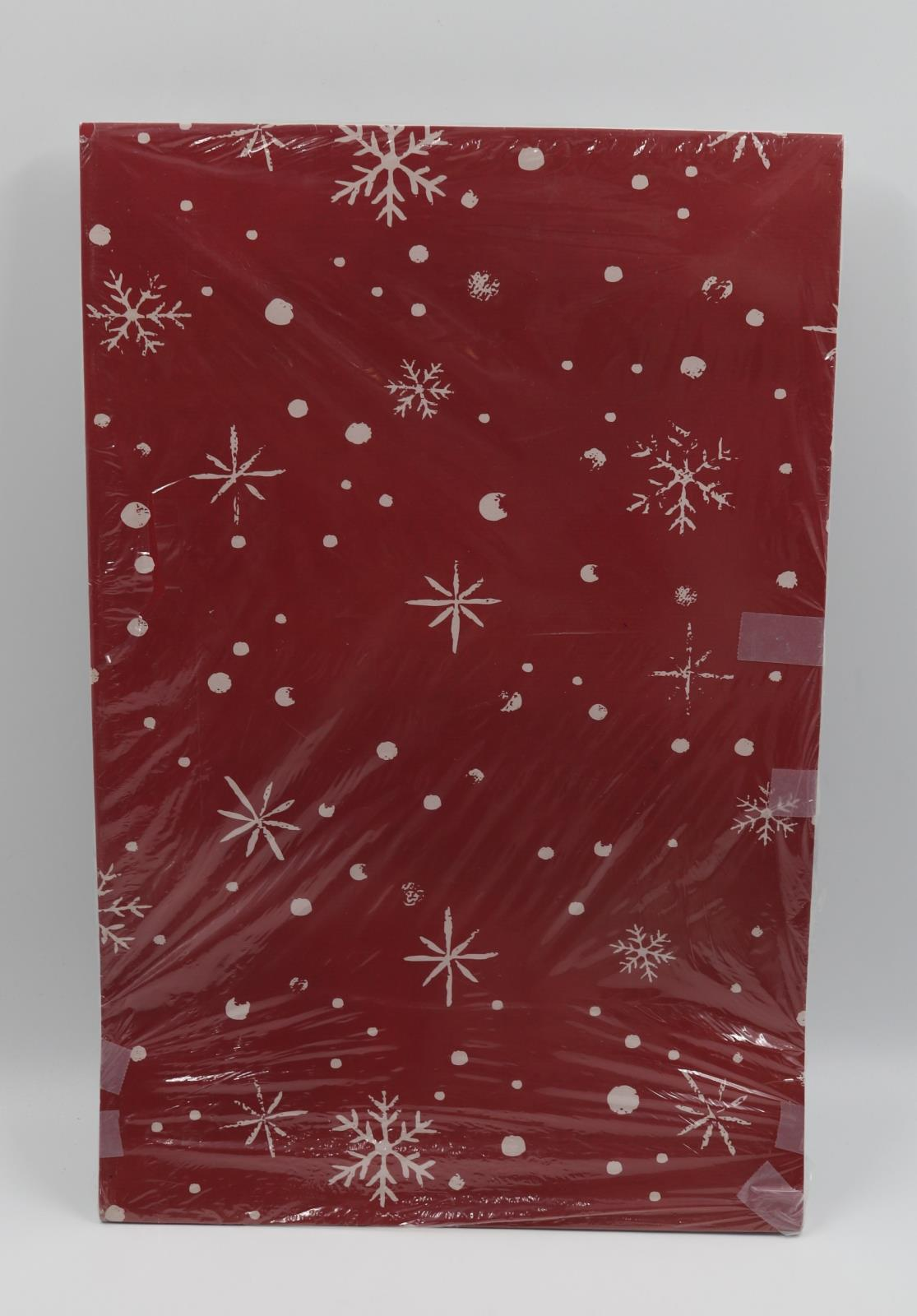 Christmas-Printed Robe Gift Boxes #3605 Assorted 4-ct