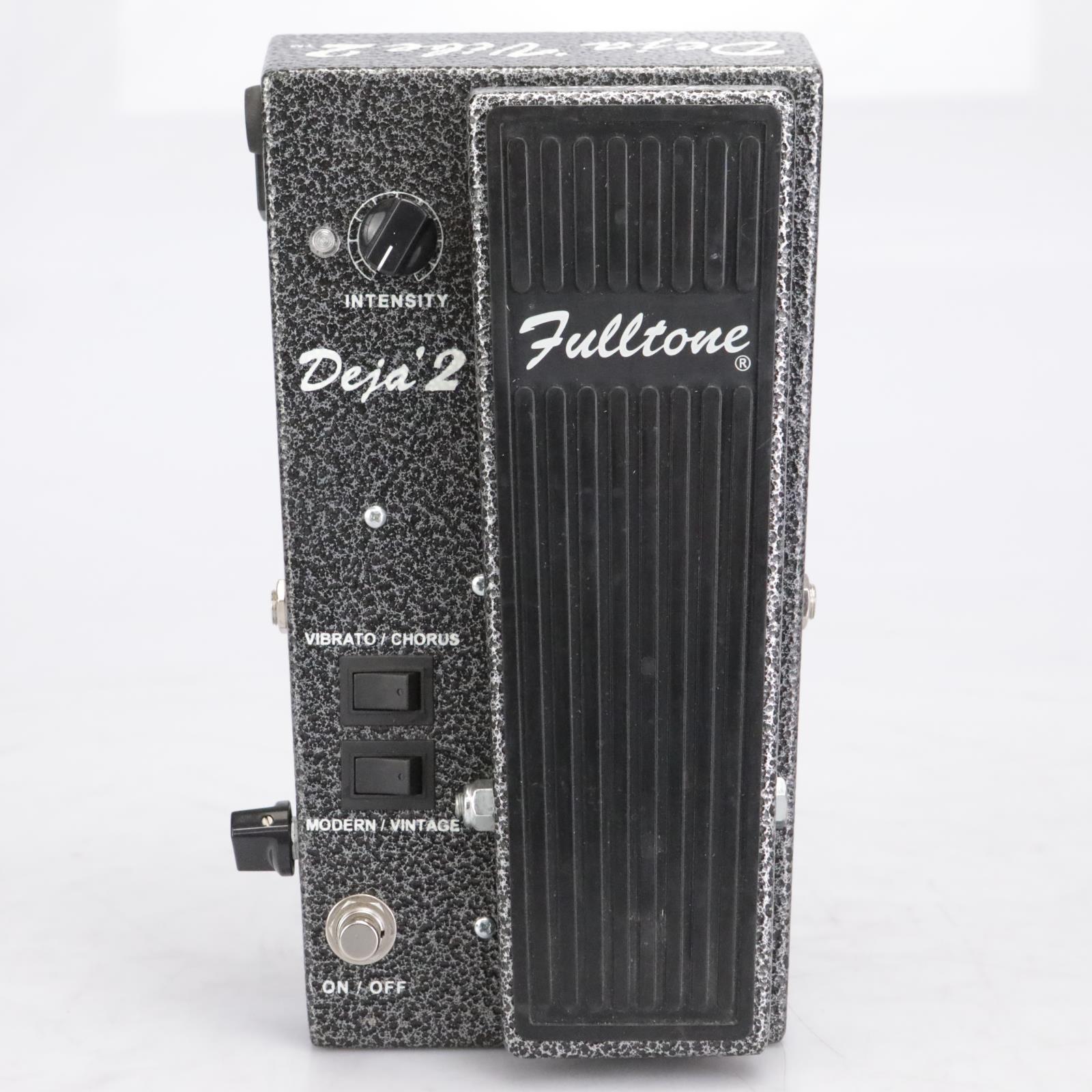 Fulltone Deja Vibe 2 Chorus Vibrato Guitar Effects Pedal #42554
