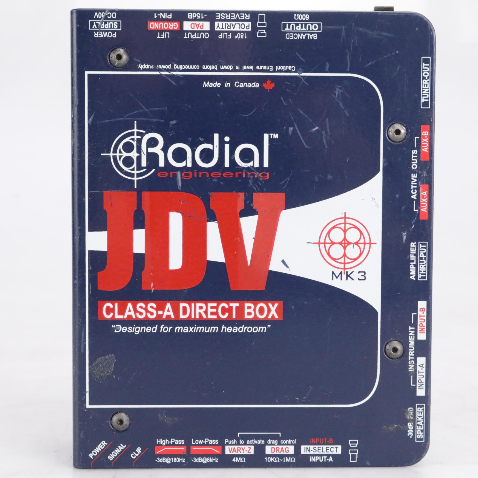 Radial Engineering JDV Class-A MK3 Direct Box #42545