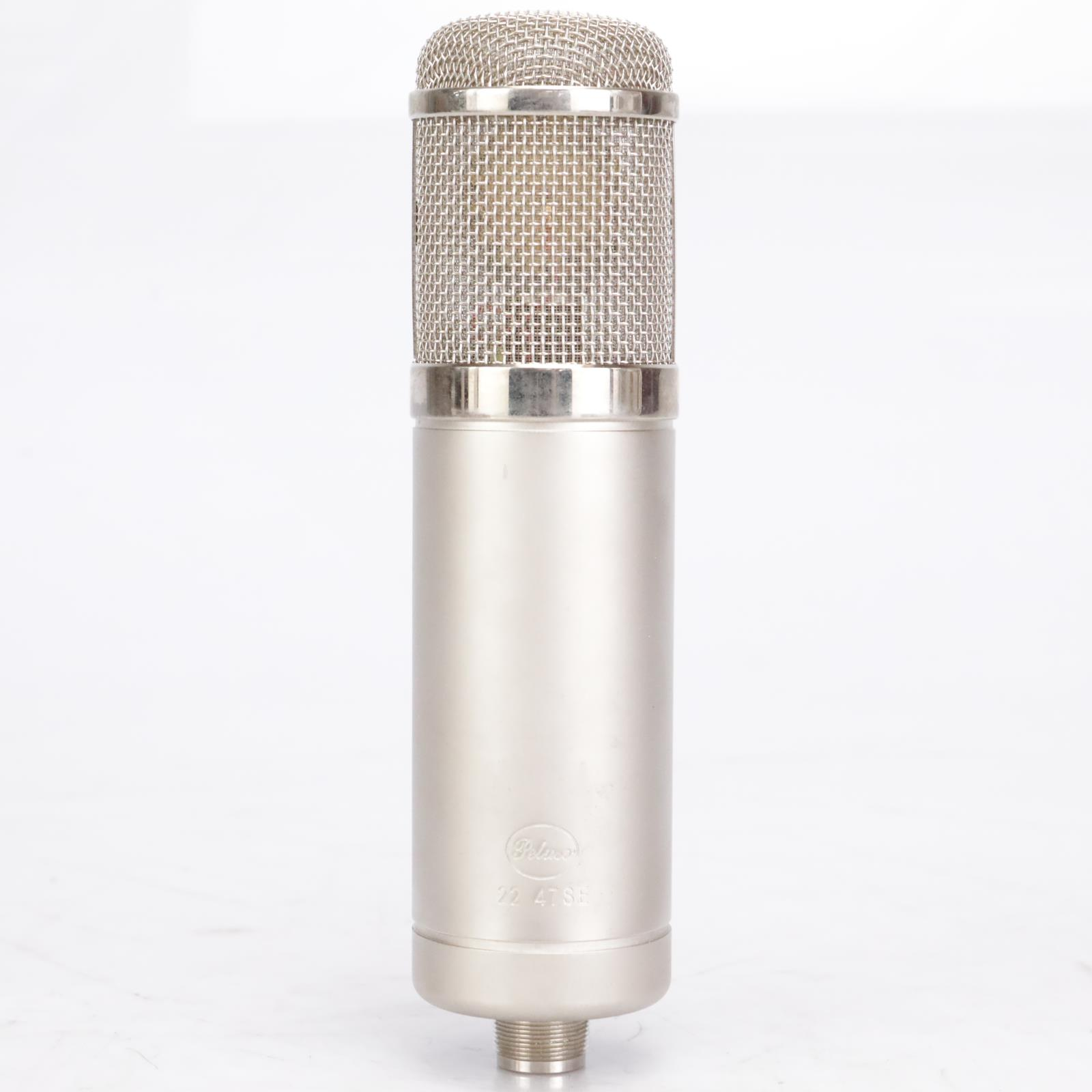 Peluso 2247 Switchable Polar Pattern Tube Condensor Microphone w/ Power #42583