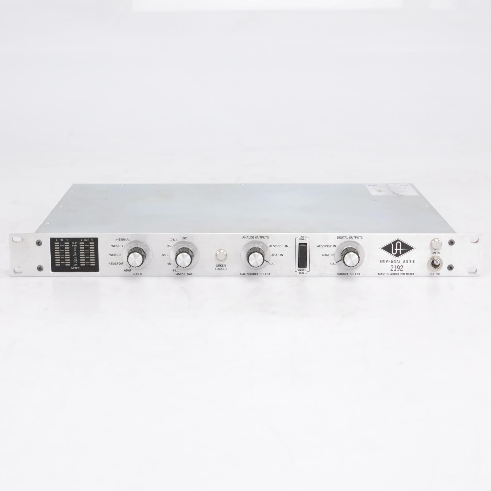 Universal Audio 2192 Master Audio Interface A‑D D‑A Converter / Clock #42584