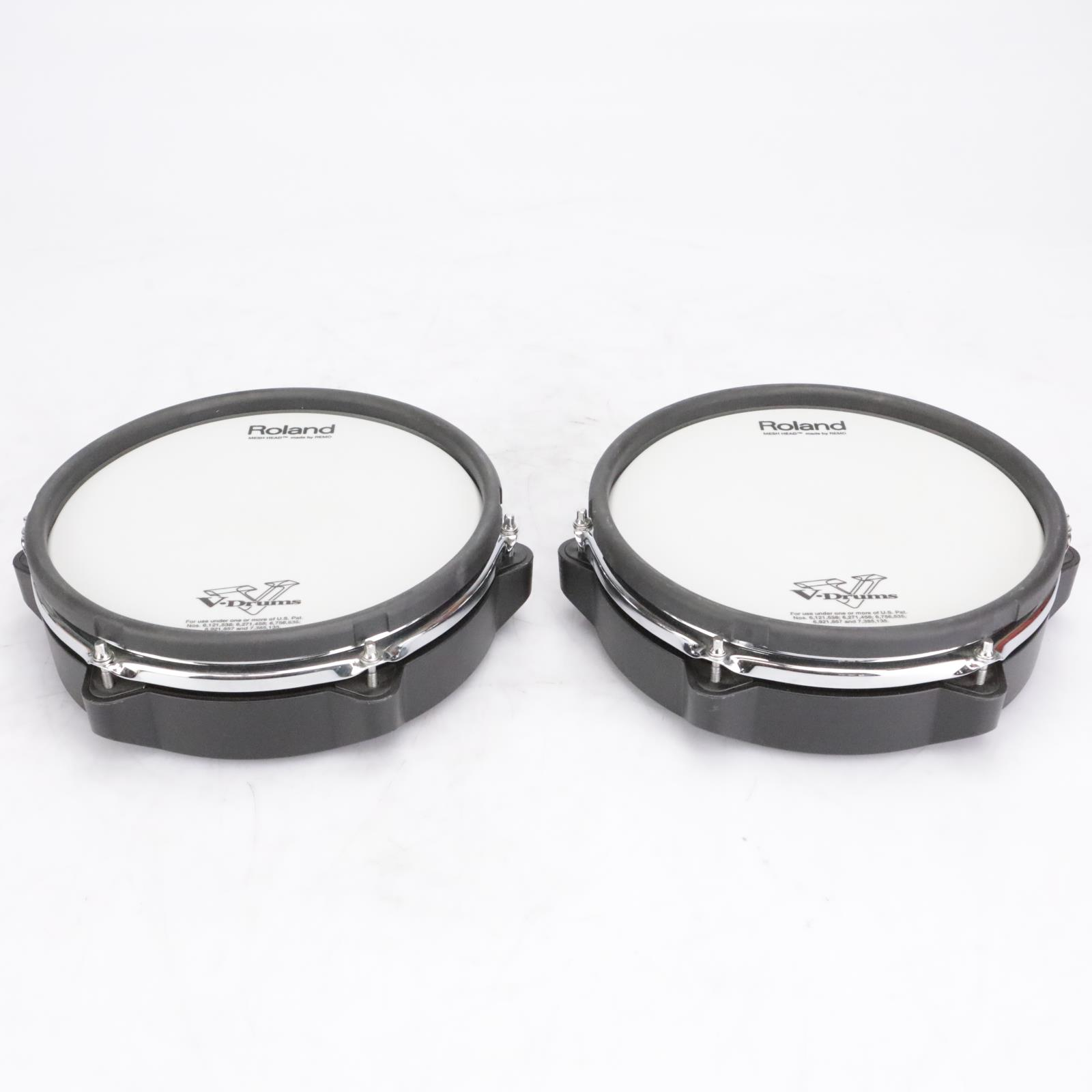 """2 Roland PDX-100 10"""" Electronic Drum Pads #42626"""