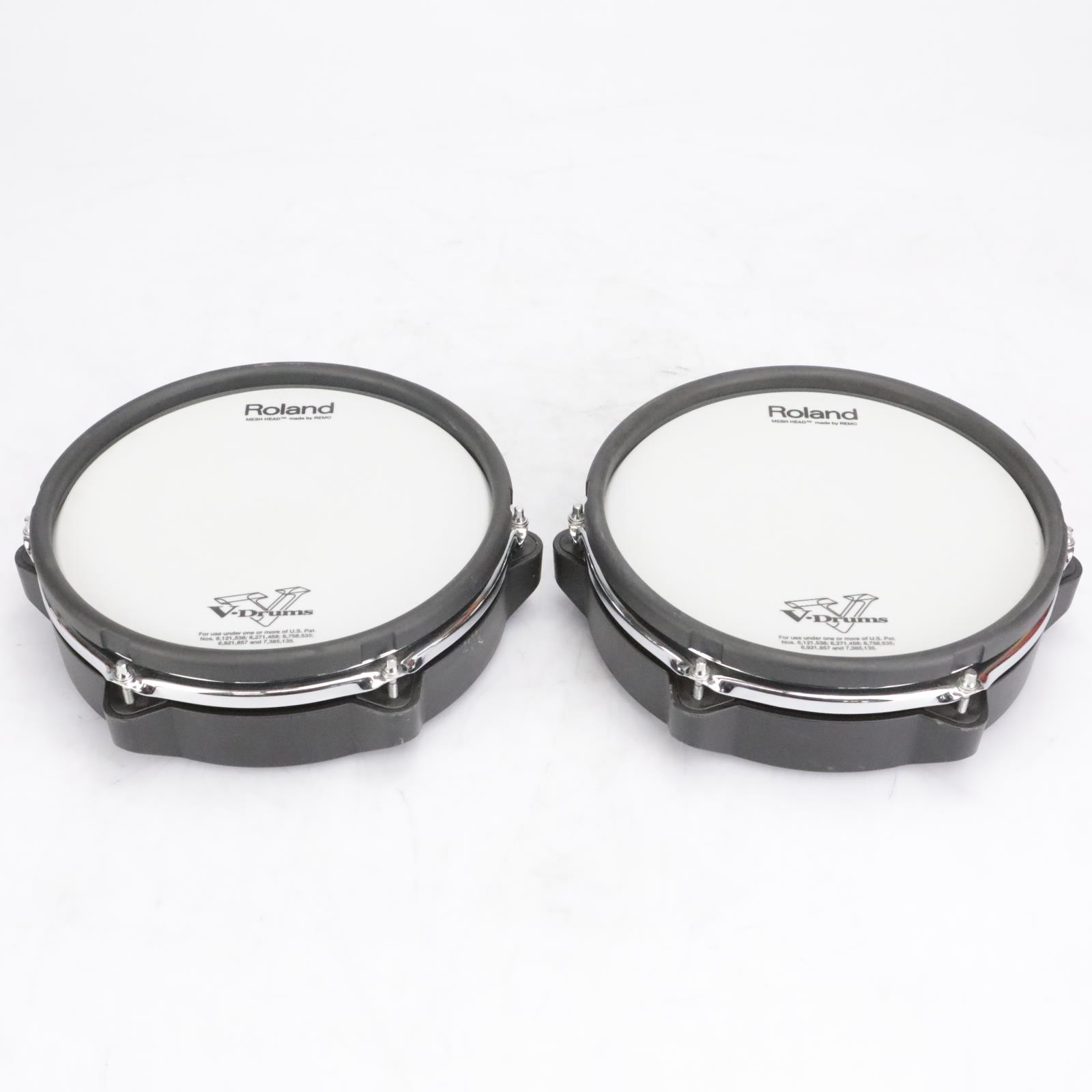 """2 Roland PDX-100 10"""" Electronic Drum Pads #42628"""