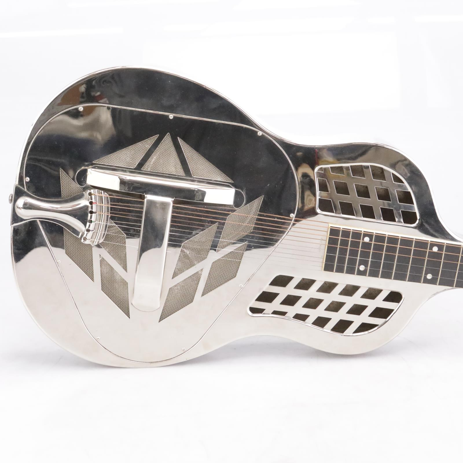 1929 National Style 1 Tricone Lap Steel Square Neck Guitar w/ Case #42351