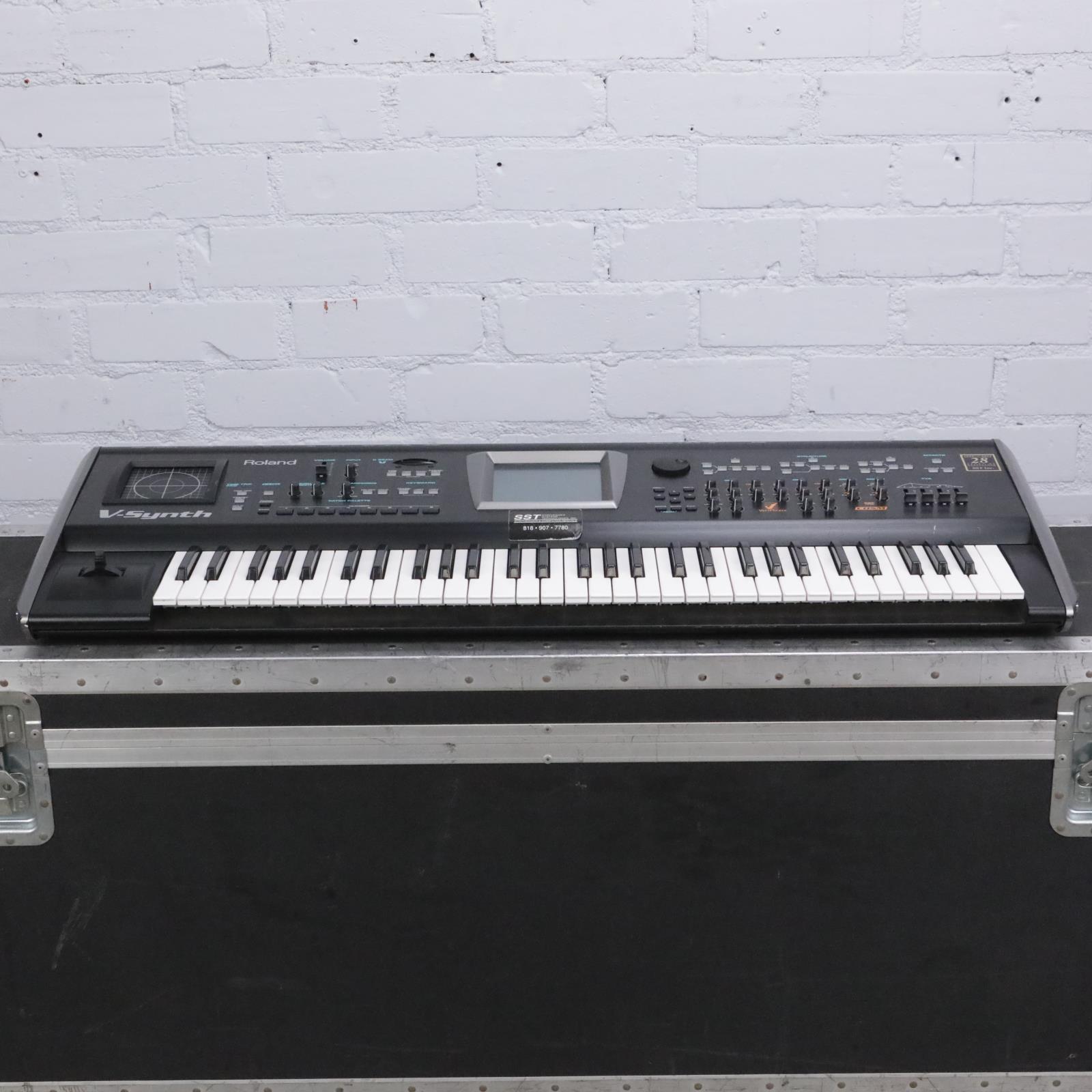 Roland V-Synth Synthesizer 61 Key Keyboard #42230