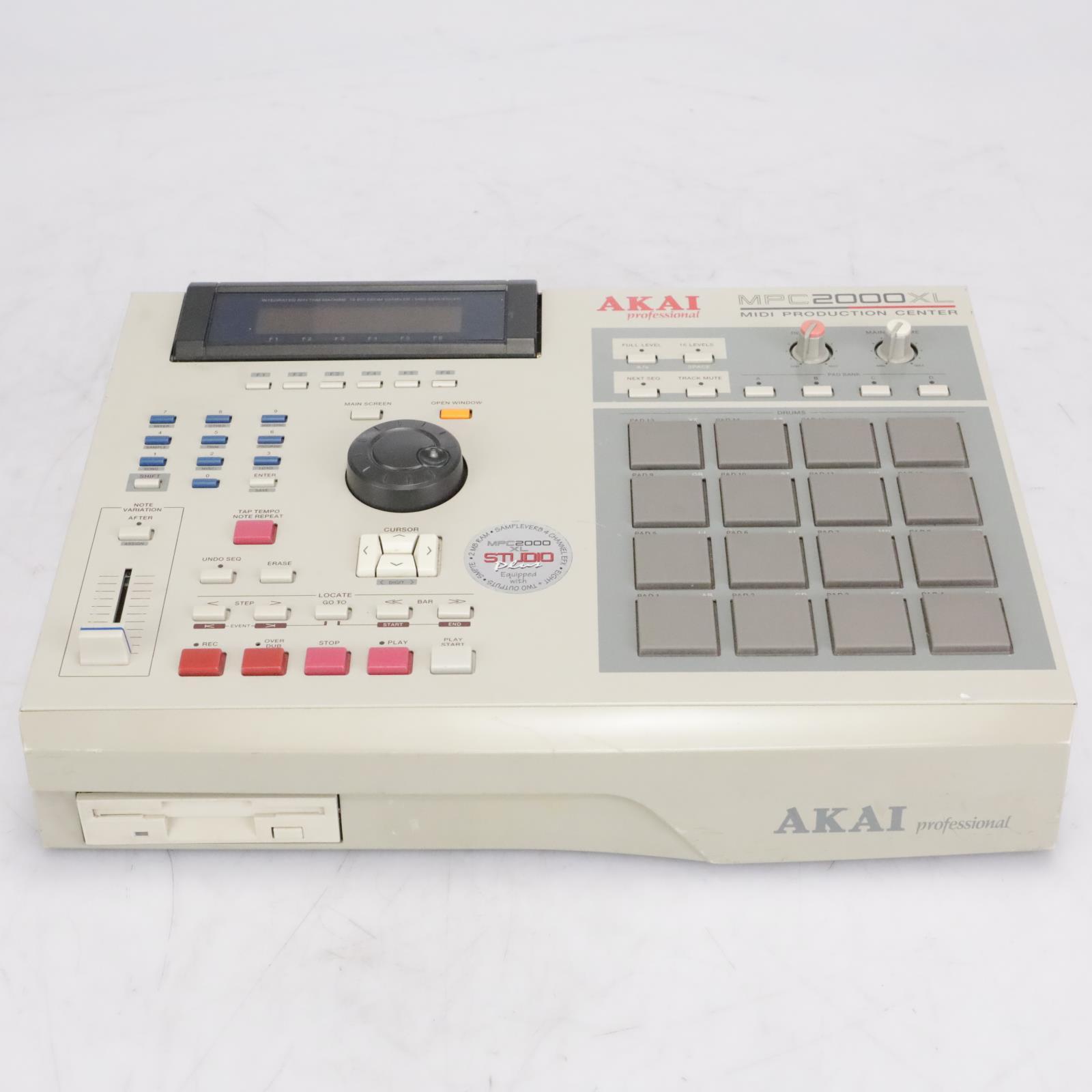 AKAI MPC2000XL Studio Plus MIDI Production Center Sampler Sequencer #42671