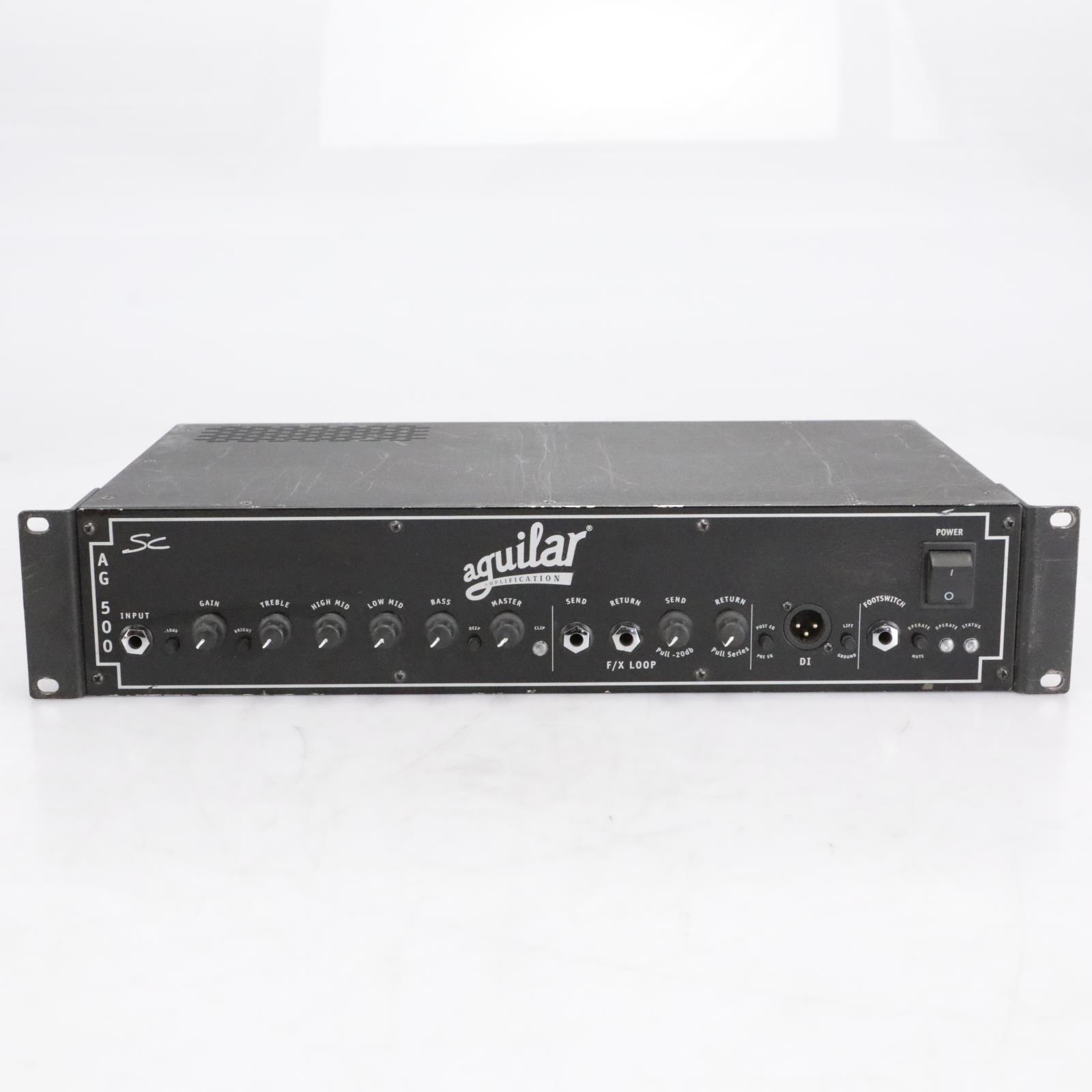 Aguilar AG 500 SC Bass Amp Amplifier Head Rack AG500SC #40791
