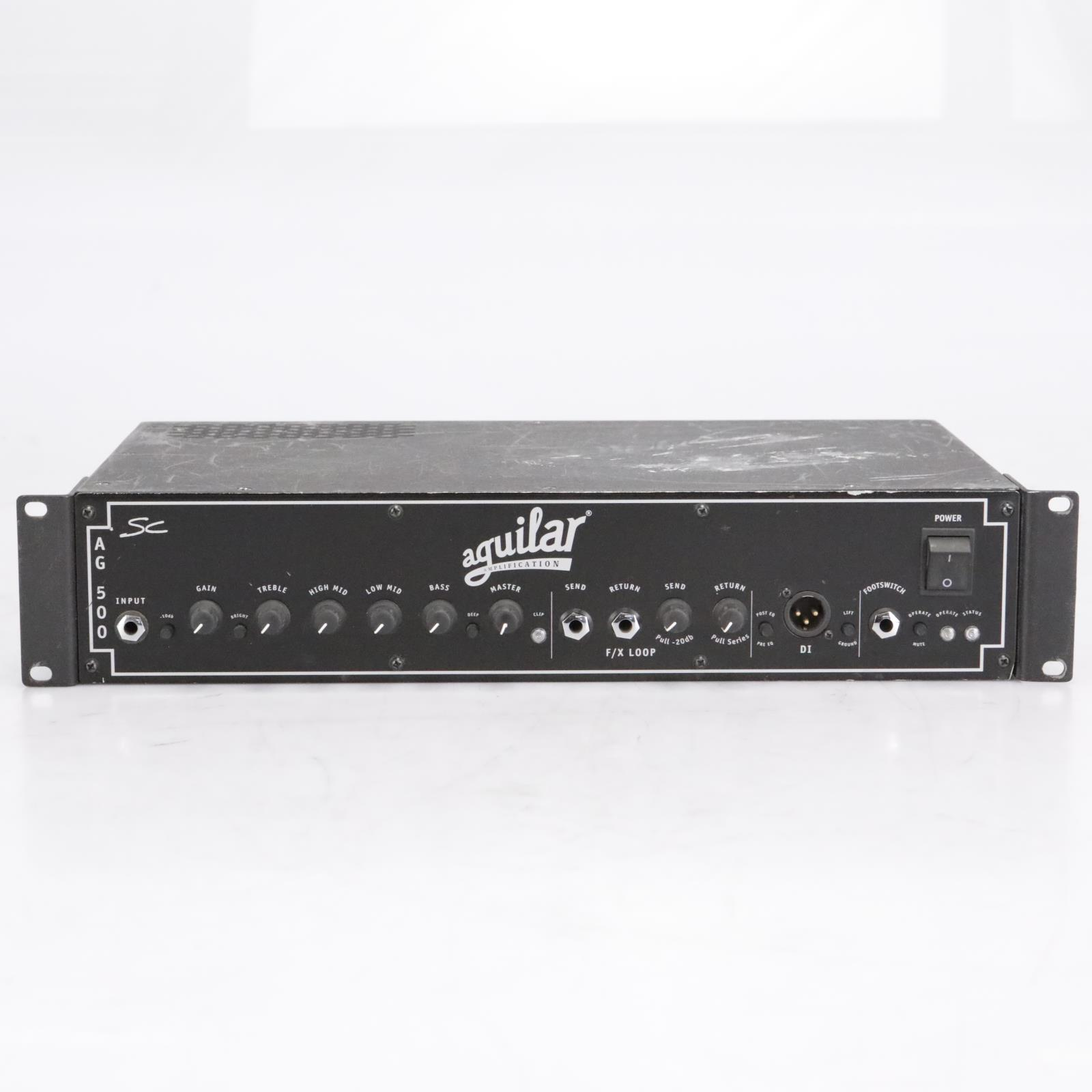 Aguilar AG500SC Bass Guitar Amplifier Head #40796