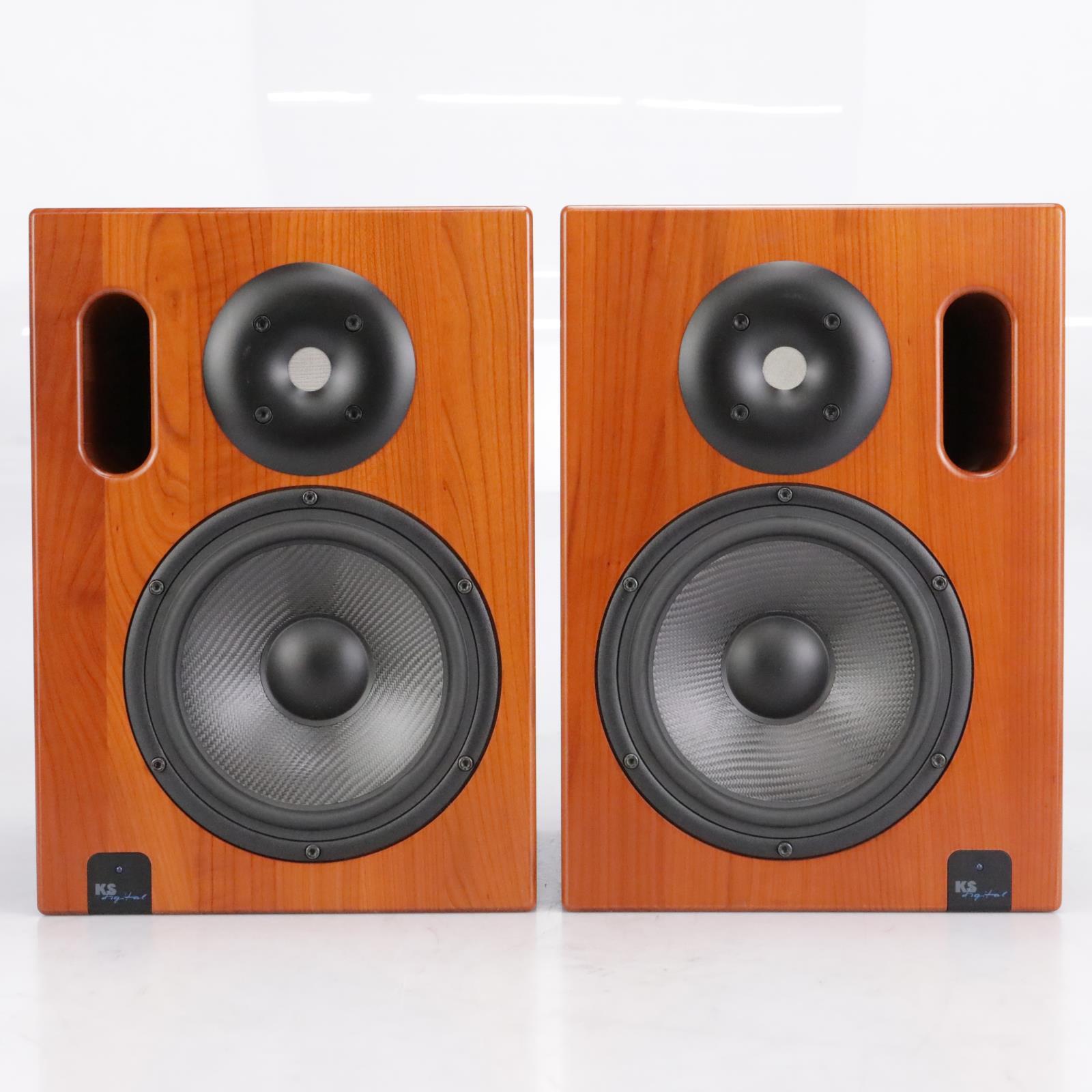 KS Digital ADM 20 Active Controlled Firtec Studio Monitors (Pair) #42655