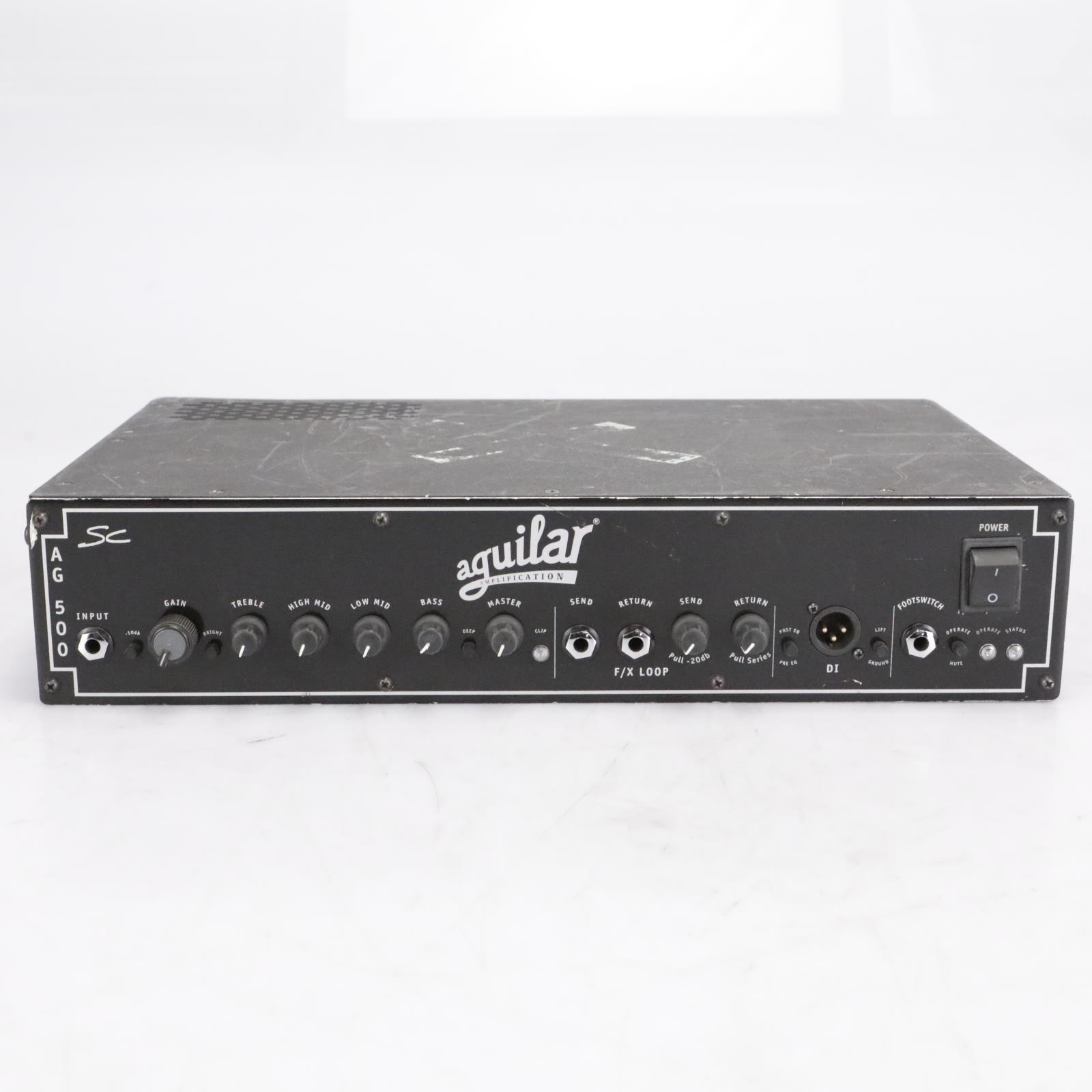 Aguilar AG500SC Bass Guitar Amplifier Head Serviced #40797