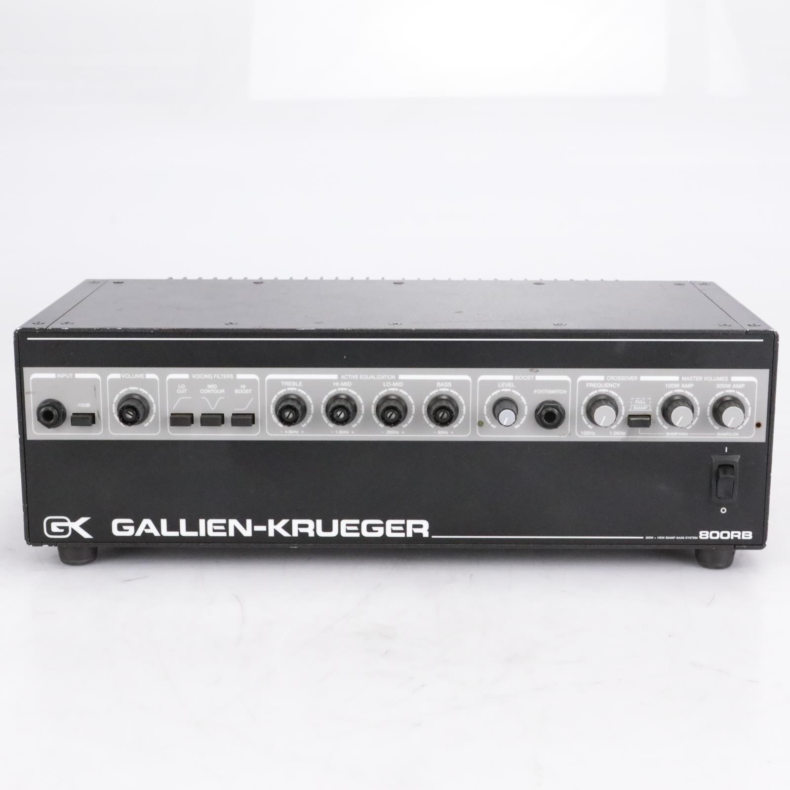 Gallien-Krueger 800RB Bass Amp Head #40802