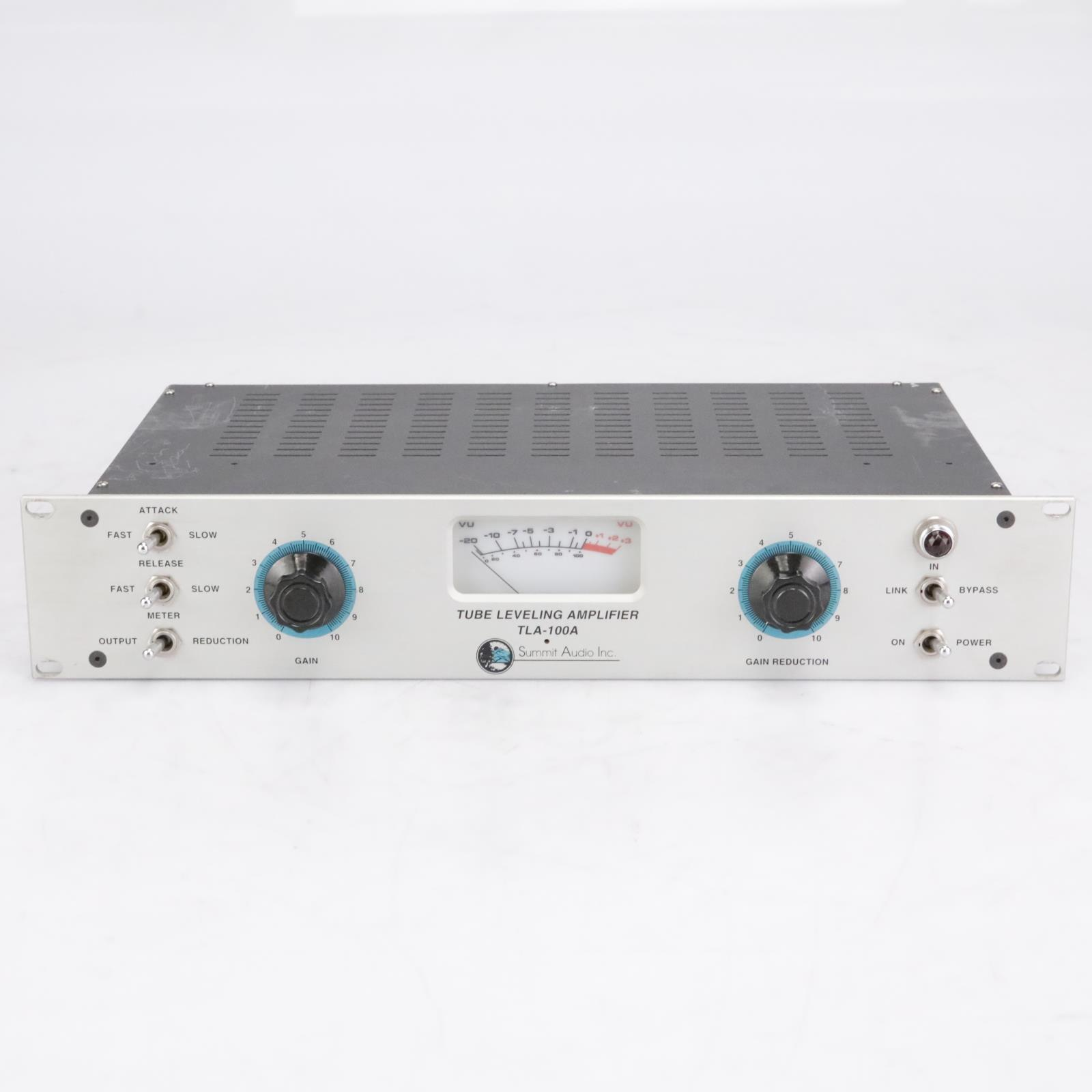 Summit TLA-100 Tube Leveling Amplifier Compressor Optical #38369