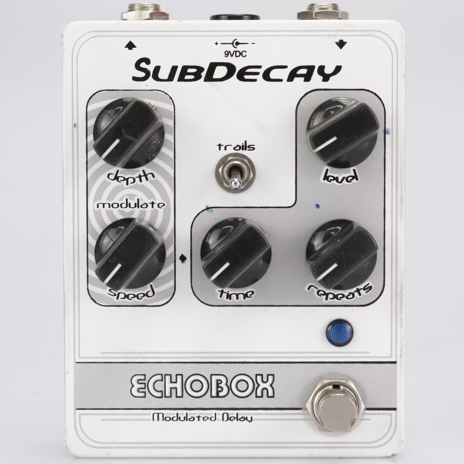 SubDecay Echobox Modulated Digital Delay Guitar Effect Stomp Box #42529