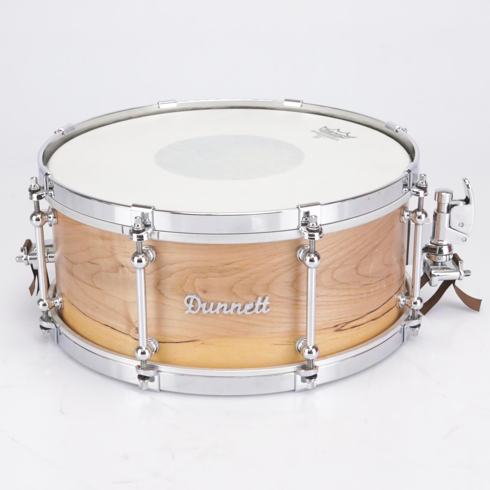 """Dunnett Maple Monoply Wood Snare Drum 14"""" x 6.5"""" #42793"""
