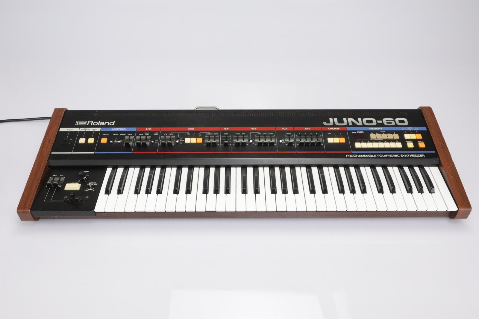 Roland Juno-60 Programmable Polyphonic Synthesizer Keyboard #42813