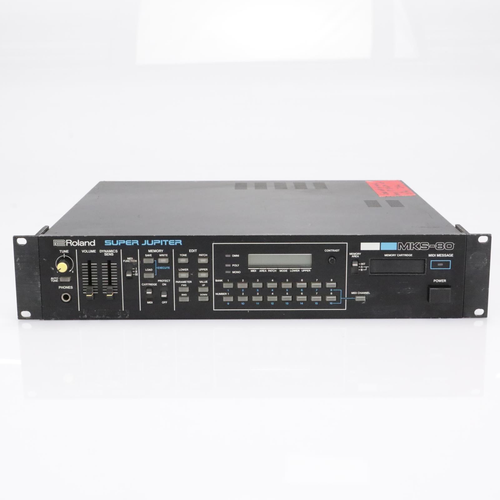 Roland MKS-80 Super Jupiter Synthesizer Module Rack Synth #42769
