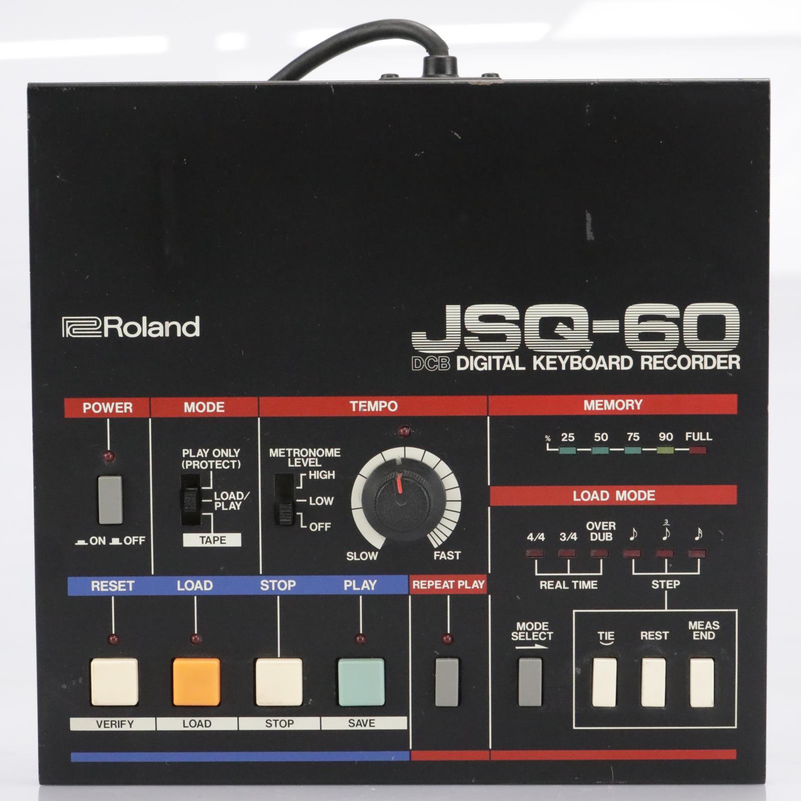 Roland JSQ-60 Digital Keyboard Recorder / Sequencer for Juno-60 Jupiter-8 #42682