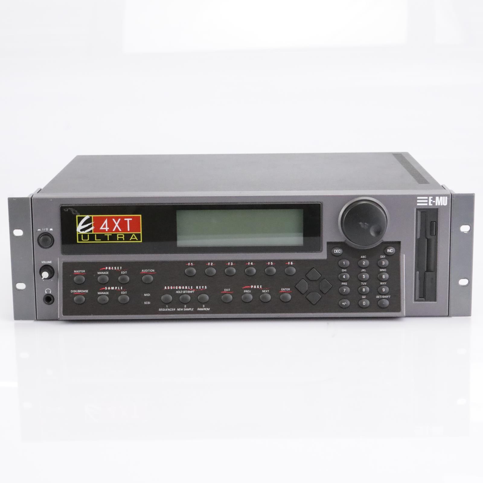E-MU Systems E4XT Ultra Sampler Rack Module #42689