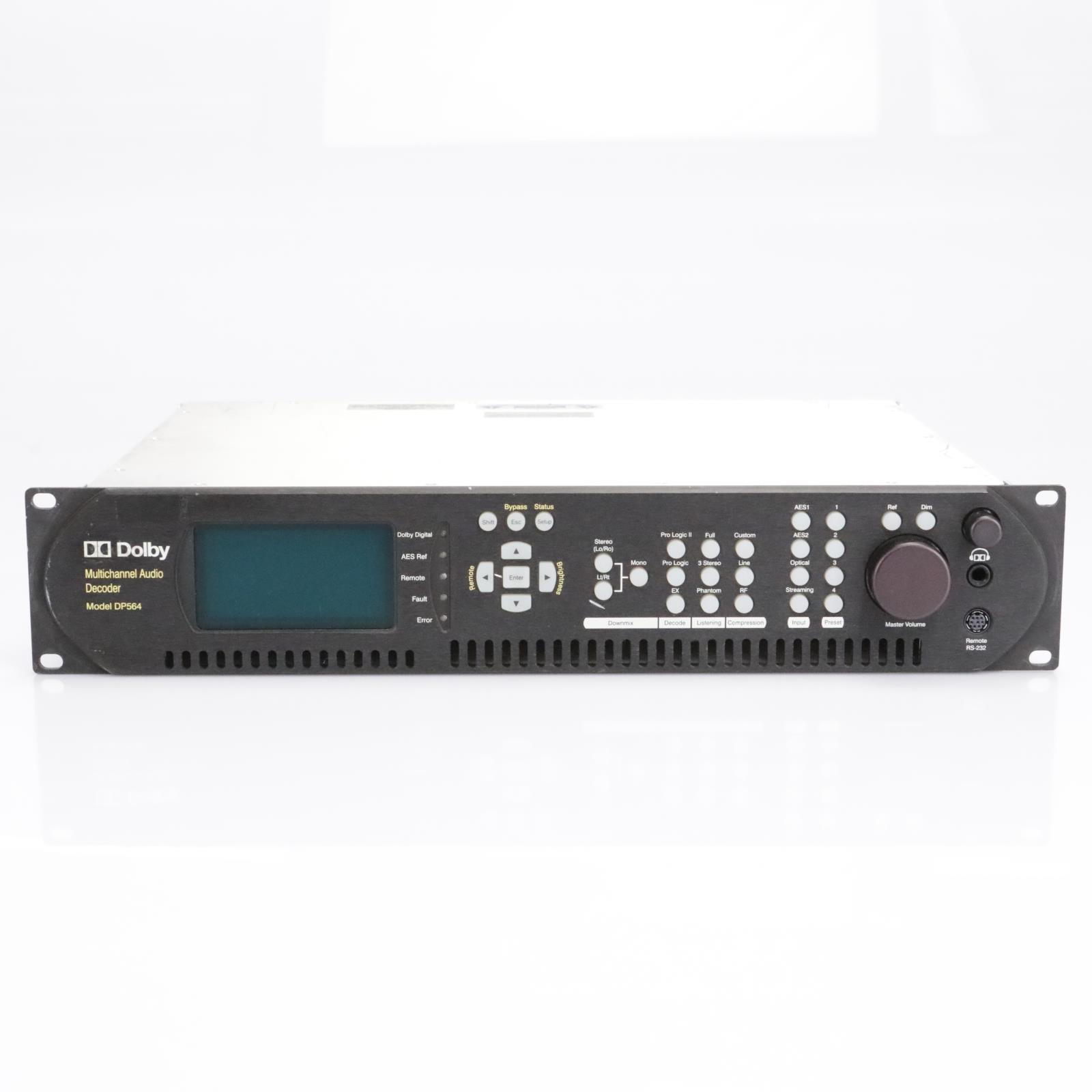 Dolby DP564 Multi-Channel Audio Decoder #42821