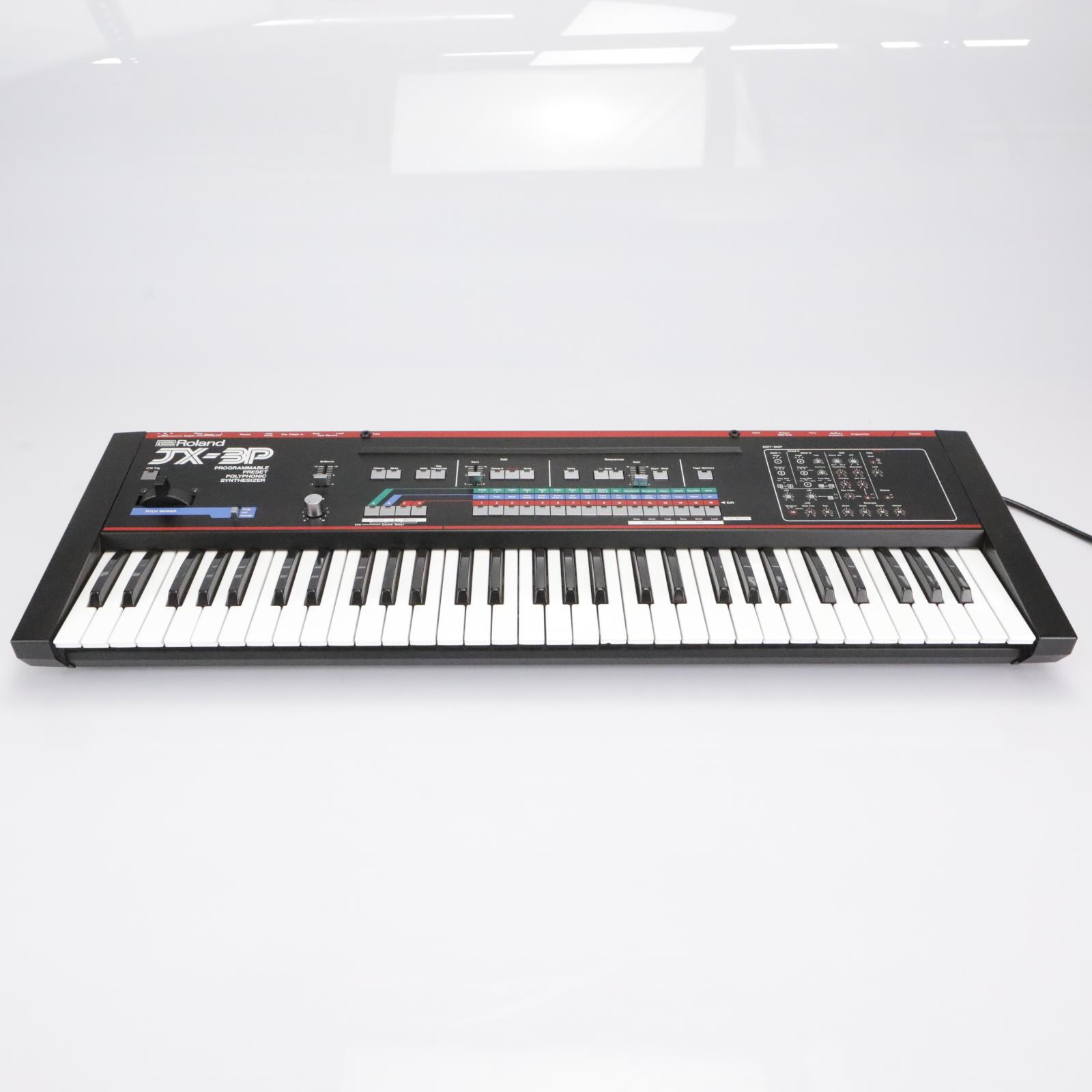 Roland JX-3P Polyphonic 61-Key Programmable Preset Keyboard Synthesizer #42879