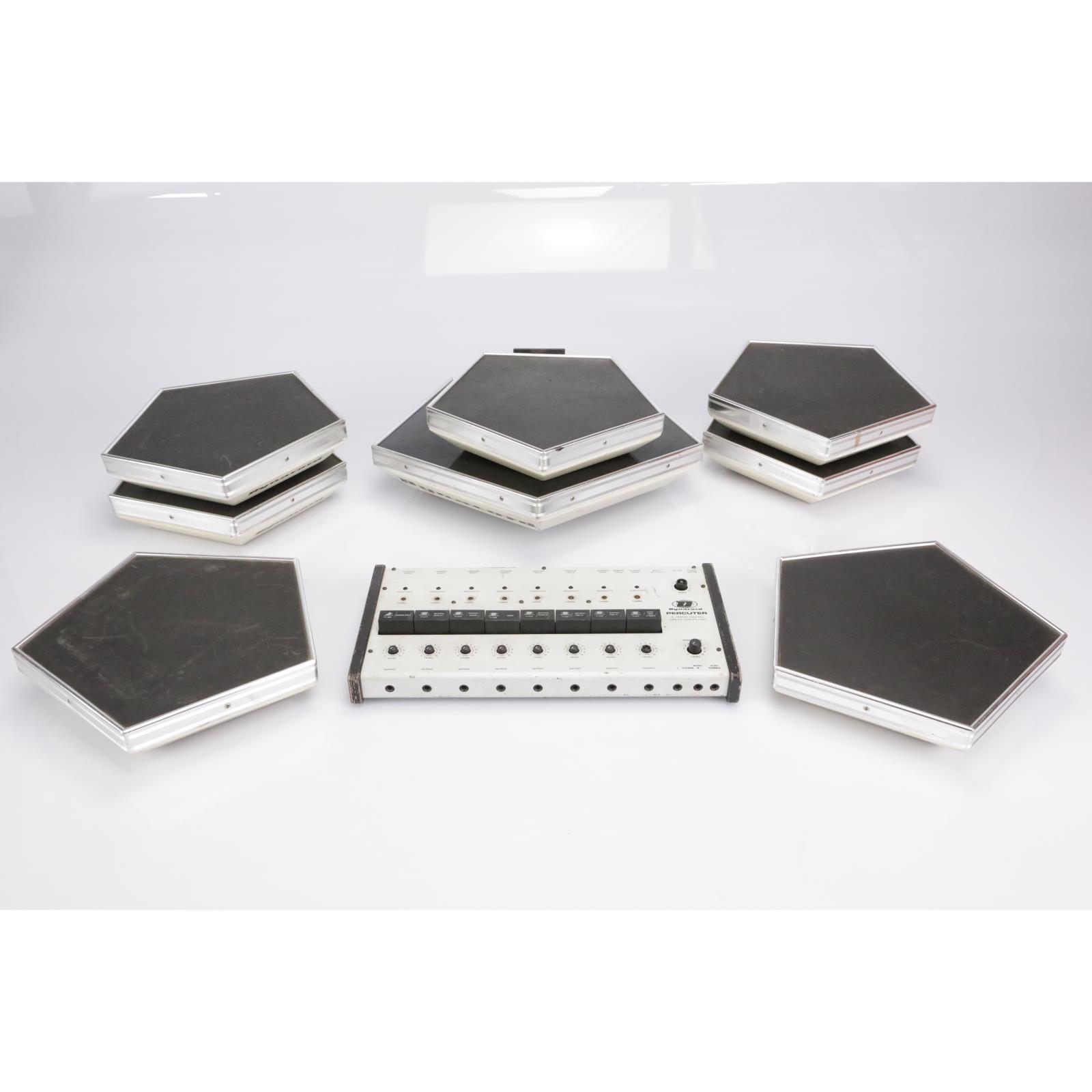 Dynacord Percuter 8-Piece Electronic Drumset w/ Control Module #42396