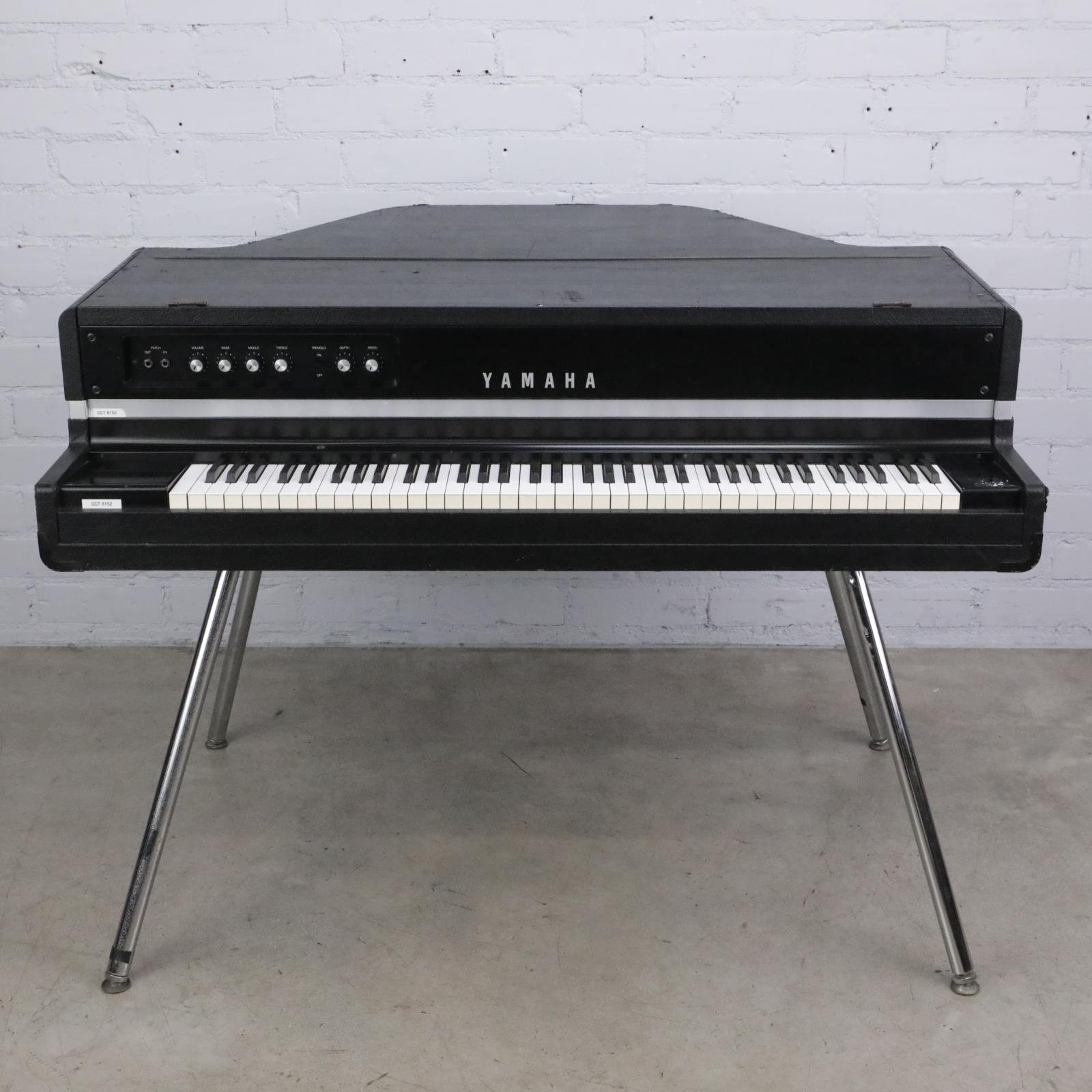 Vintage Yamaha CP-70B Acoustic-Electric Grand Piano w/ Calzone Road Cases #42791