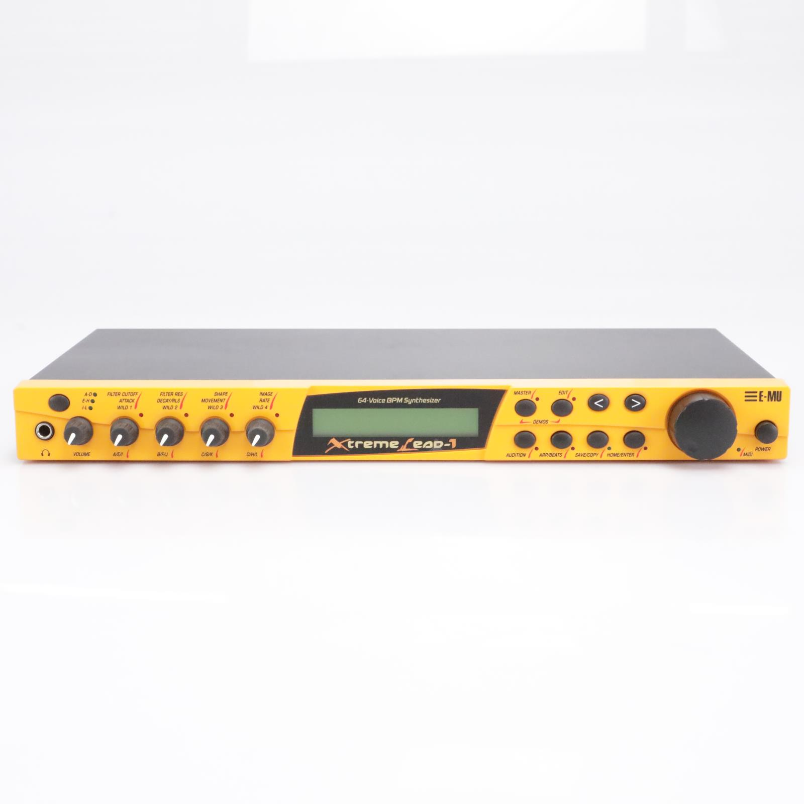 E-mu Systems Xtreme Lead-1 9110 64-Voice Rackmount Synthesizer #42823