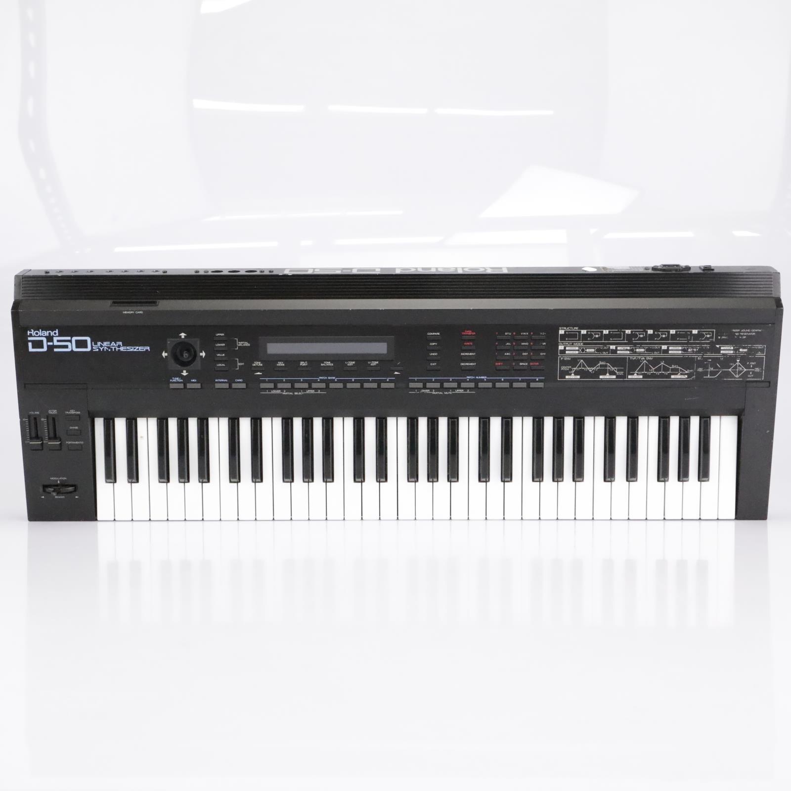 Roland D-50 Linear Synthesizer Digital Keyboard #43001