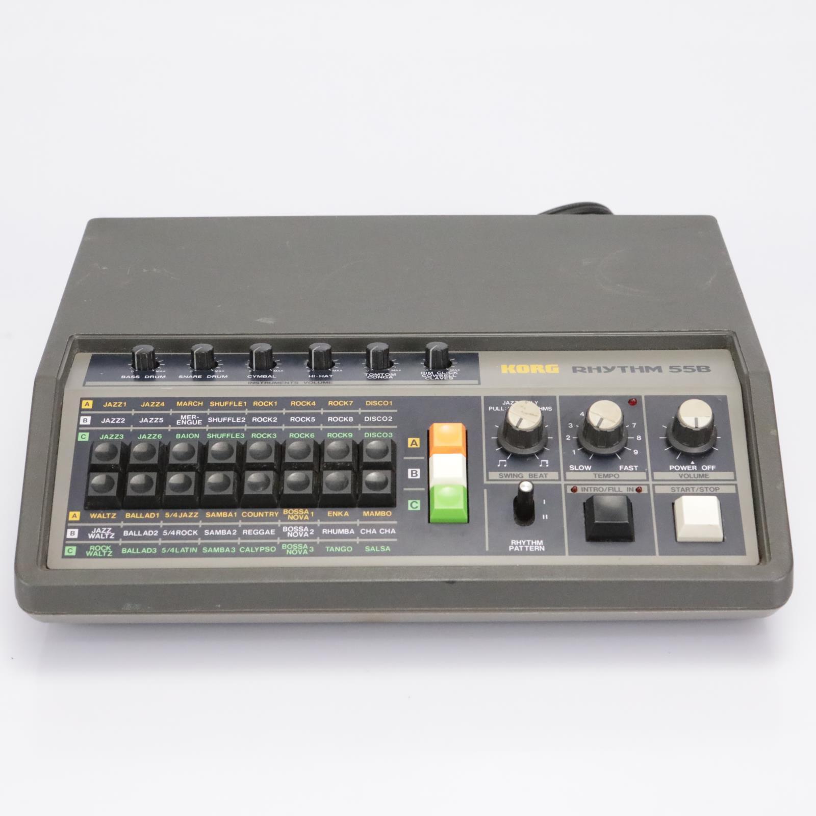 Korg KR-55B Analog Rhythm Box Drum Machine #43065
