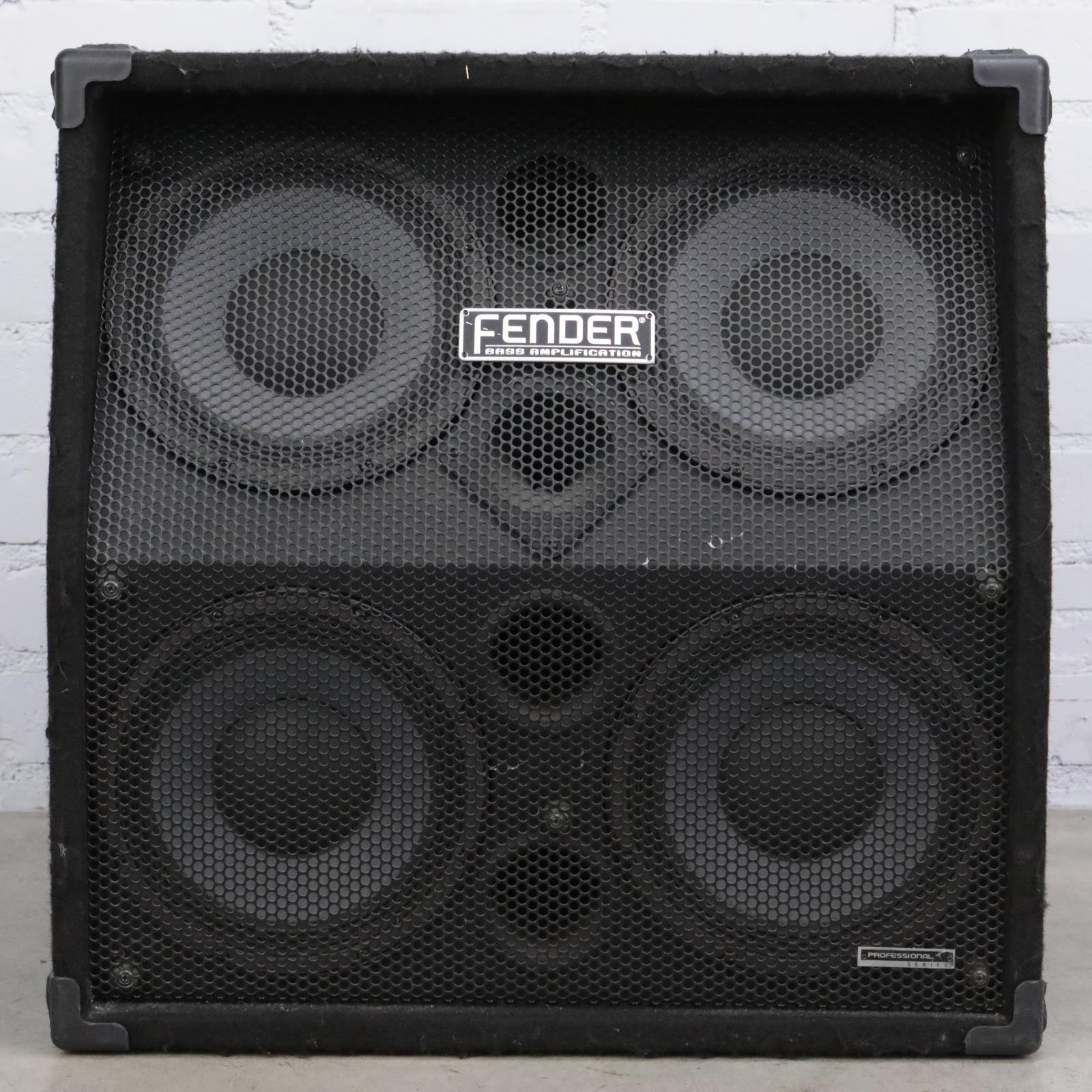 Fender 410 Pro 4x10 Slanted Bass Speaker Cabinet #43087