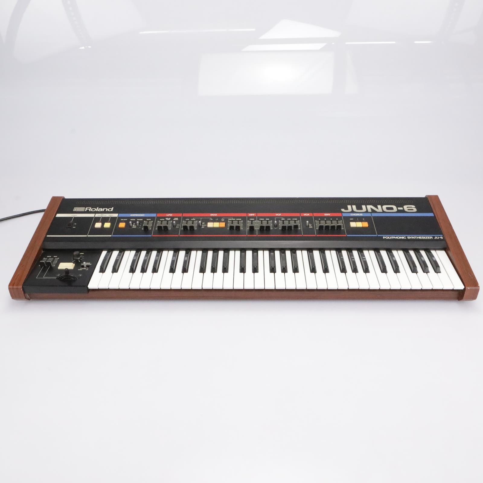 Roland JU-6 Juno-6 Programmable Polyphonic Analog Synthesizer #43103
