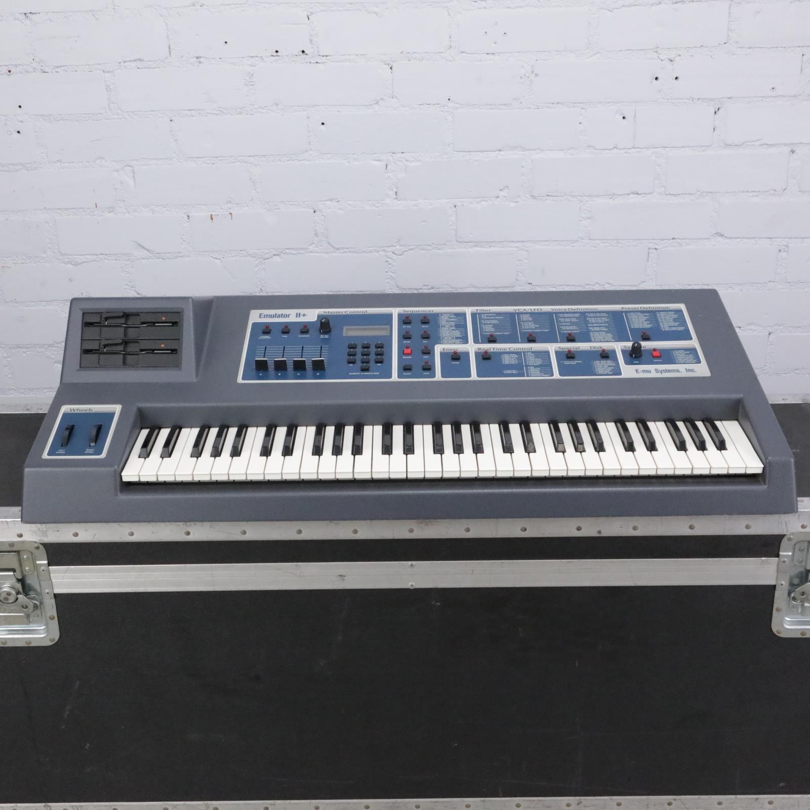 E-mu Emulator II+ Plus Sampler Synthesizer Keyboard #43140