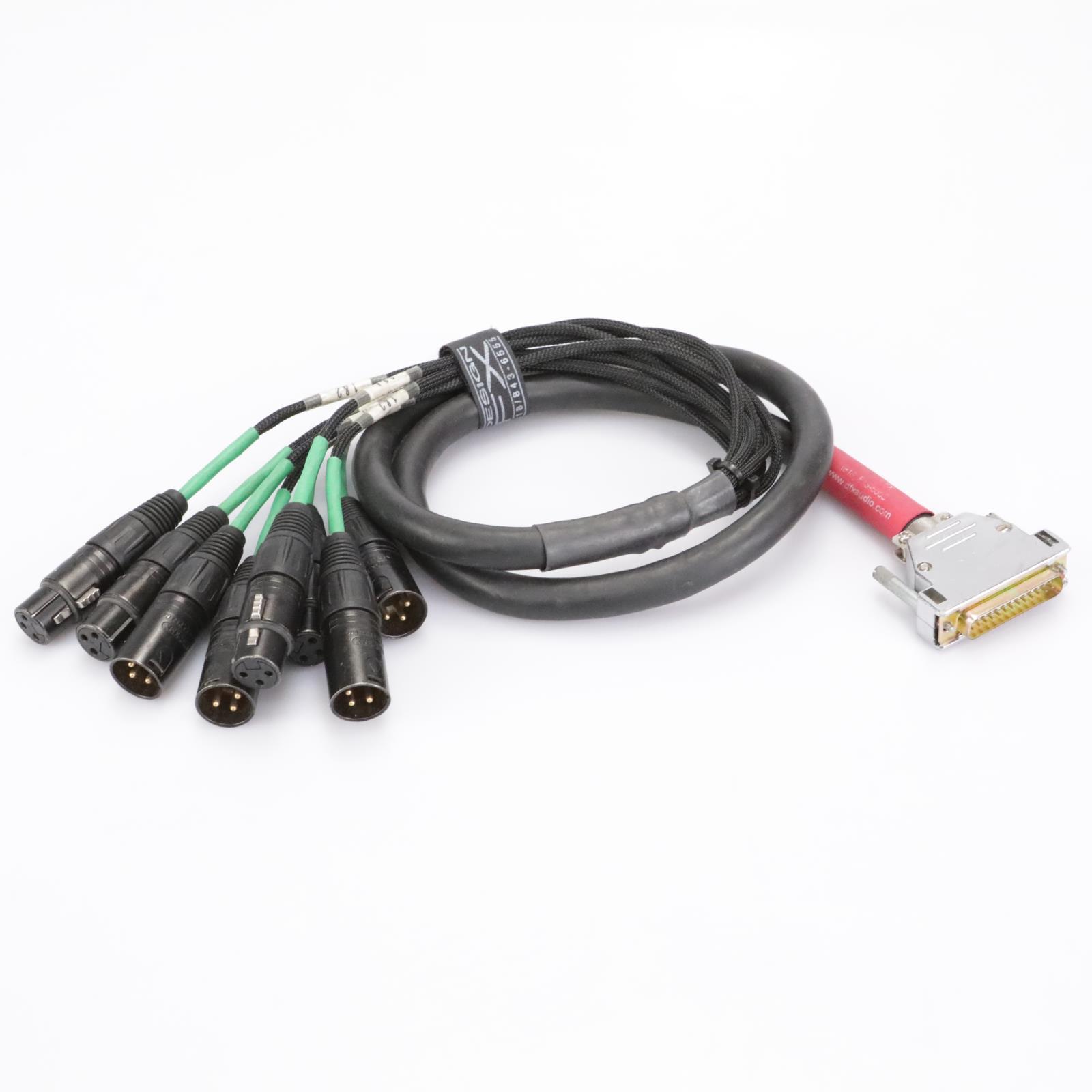 Mogami W3162 4' DB25 M -XLRM XLRF 8-Ch Digital AES EBU Snake Cable #42931