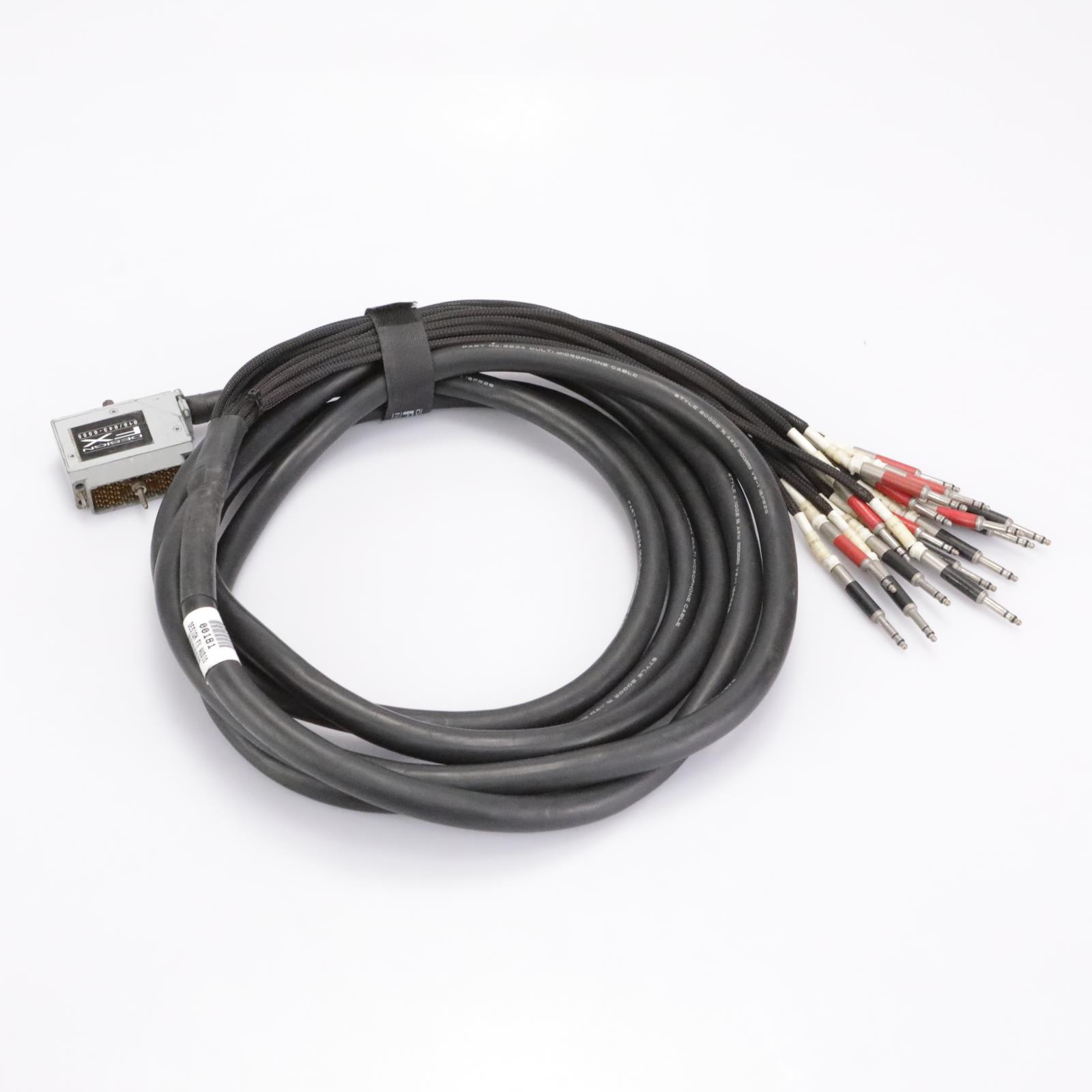 Mogami 15' W2934 16-Ch 56-Pin Edac - TT Patch Snake Cable #42939