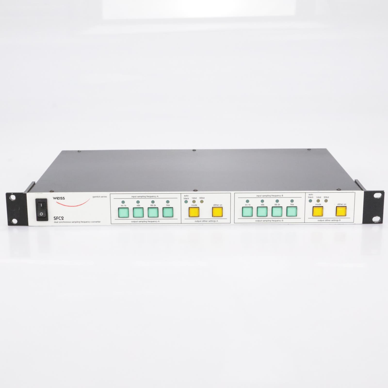 Weiss SFC2 Sampling Converter and Word Length Reducer #43213