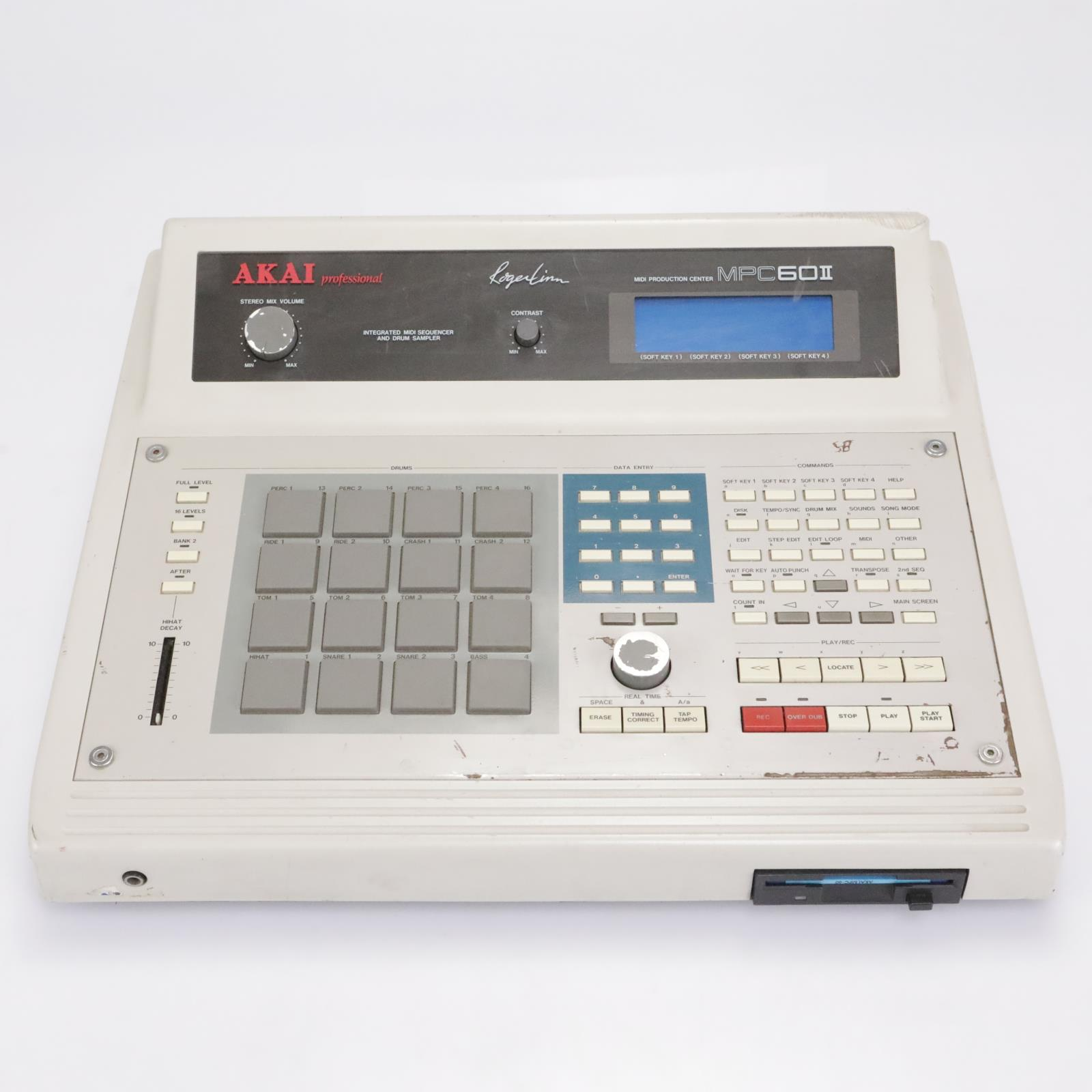 Akai MPC 60 II MIDI Production Center 16-Pad Drum Machine / Sampler #43046