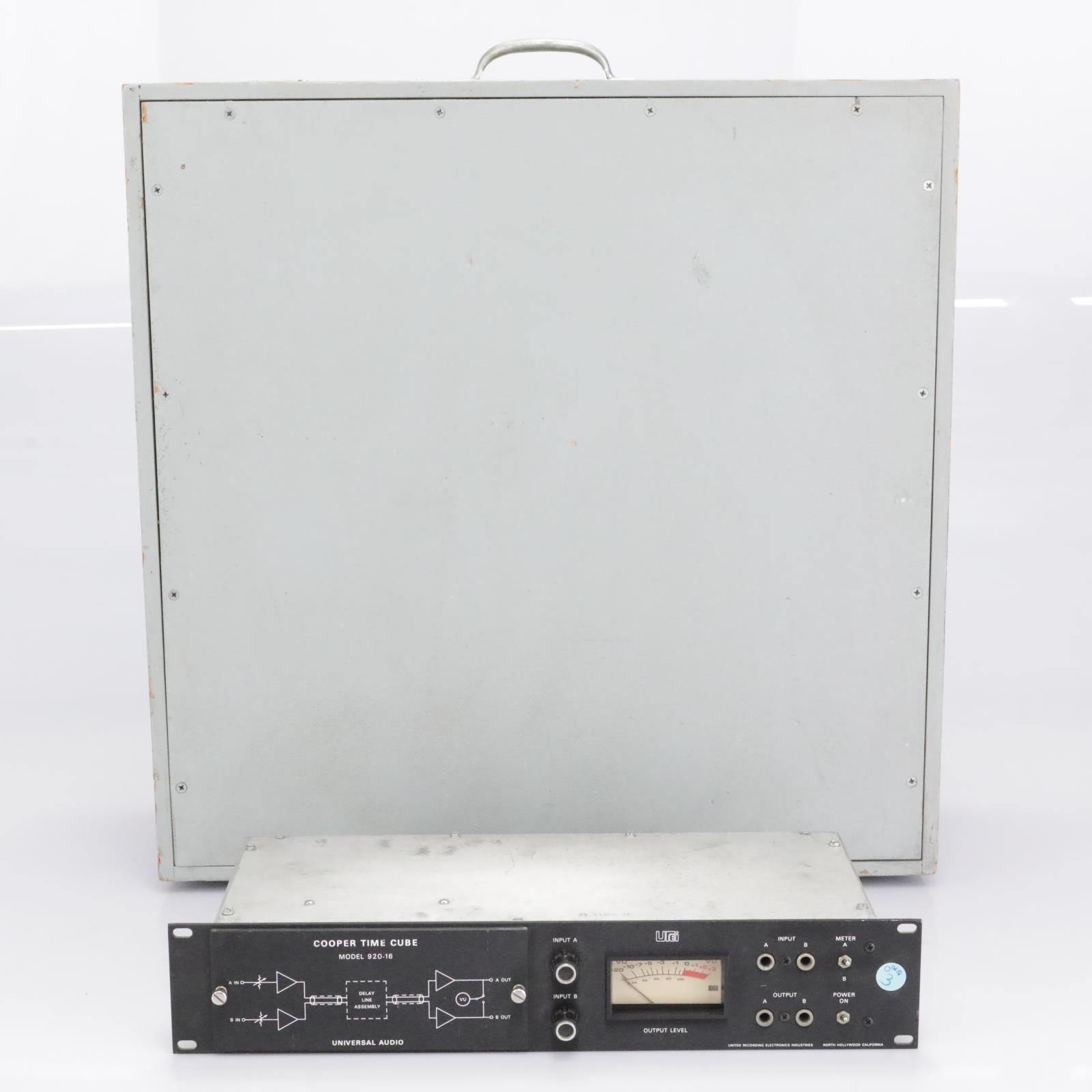 Universal Audio Urei Model 920-16 Cooper Time Cube #30278