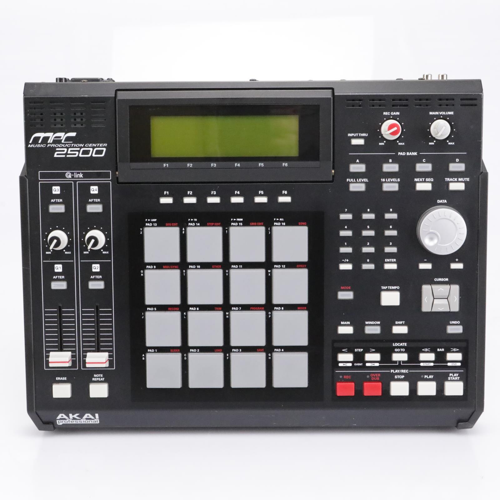 Akai MPC2500 Music Production Center Drum Machine / Sampler #43141