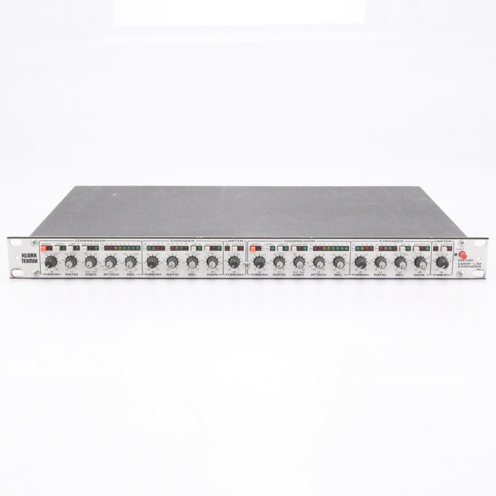 Klark-Teknik DN-500 Dual Compressor/Limiter/Expander #43195