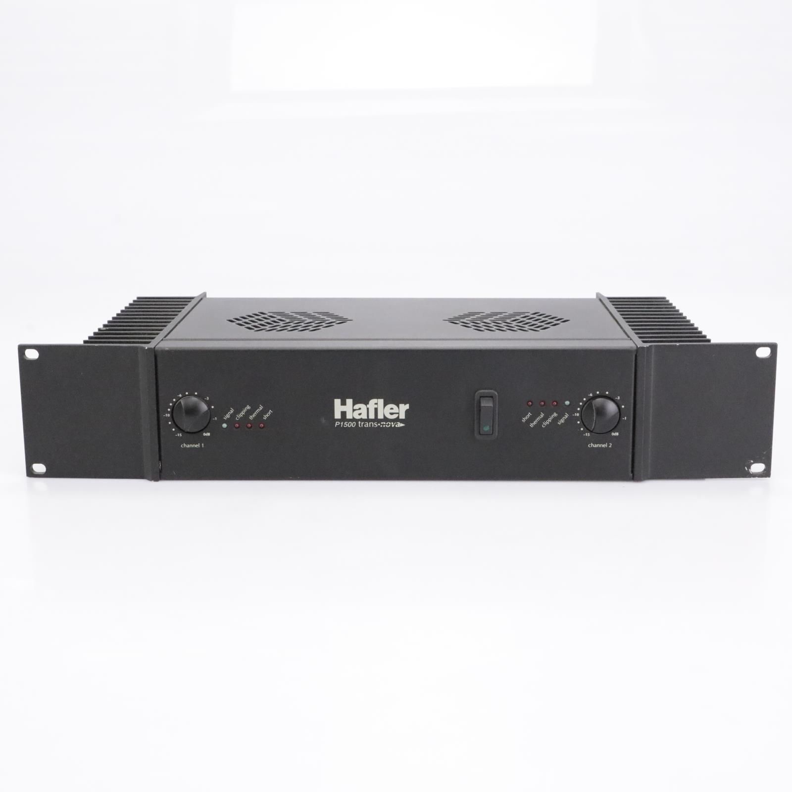 Hafler P1500 Transnova Stereo Power Amplifier #43220