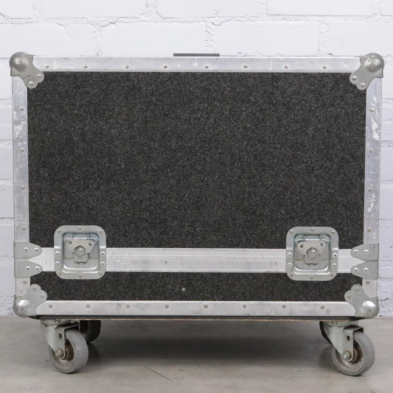 Dual Section Carpeted Speaker Monitor Utility ATA Flight Road Case #43508
