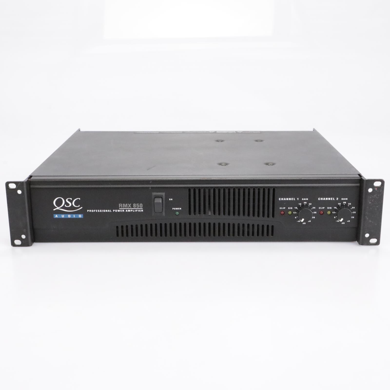 QSC Audio RMX 850 Professional Power Amplifier #43510