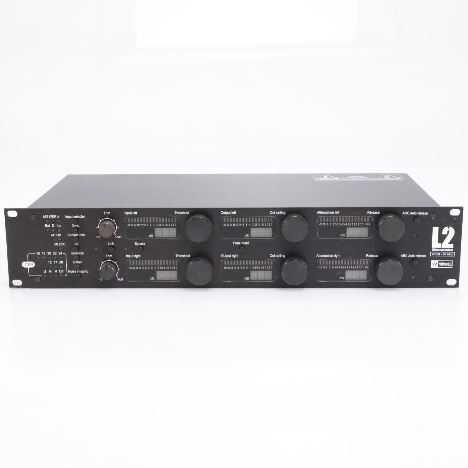 Waves L2 Ultramaximizer Rackmountable Mastering Limiter #43444
