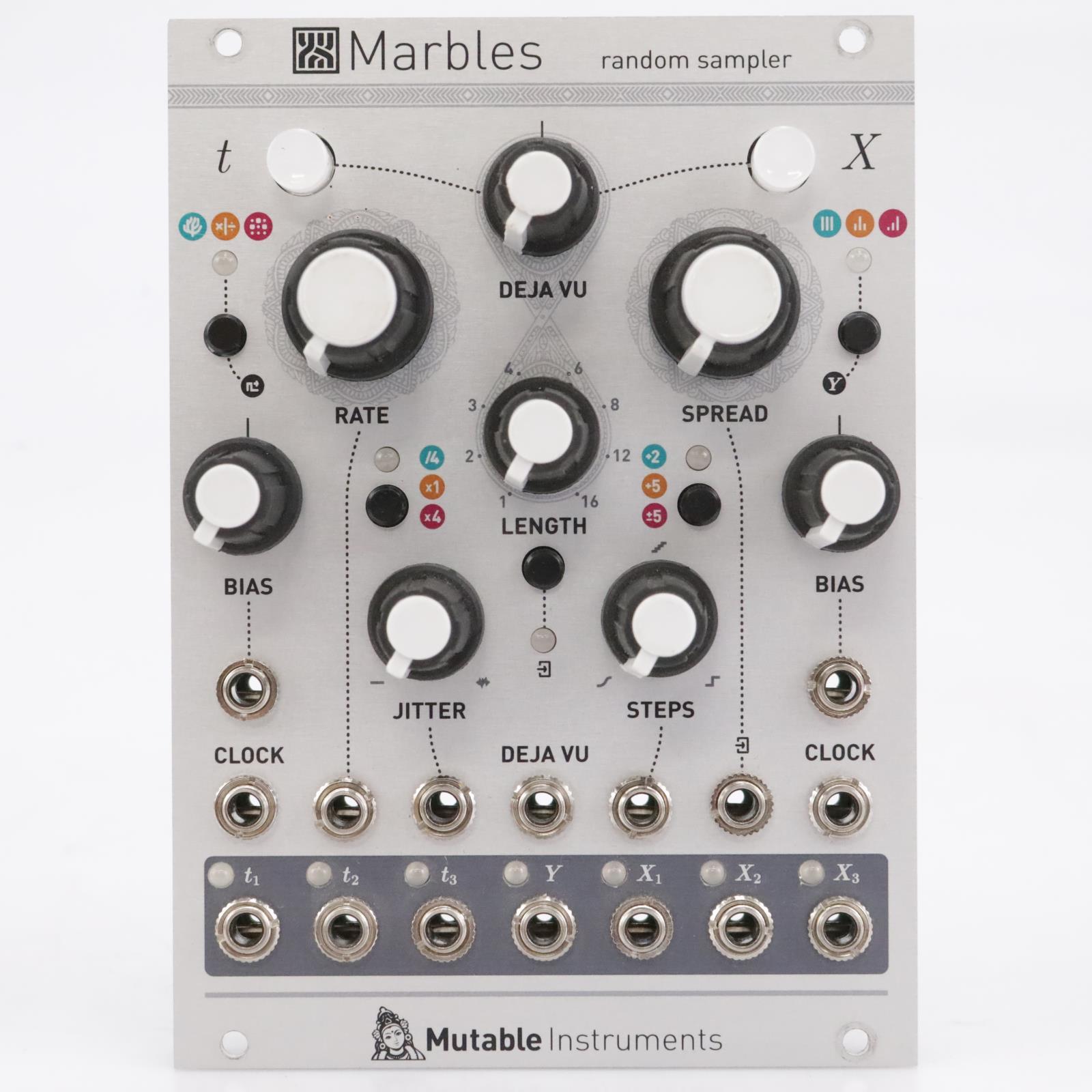 Mutable Instruments Marbles Random Sampler Eurorack Module #43695