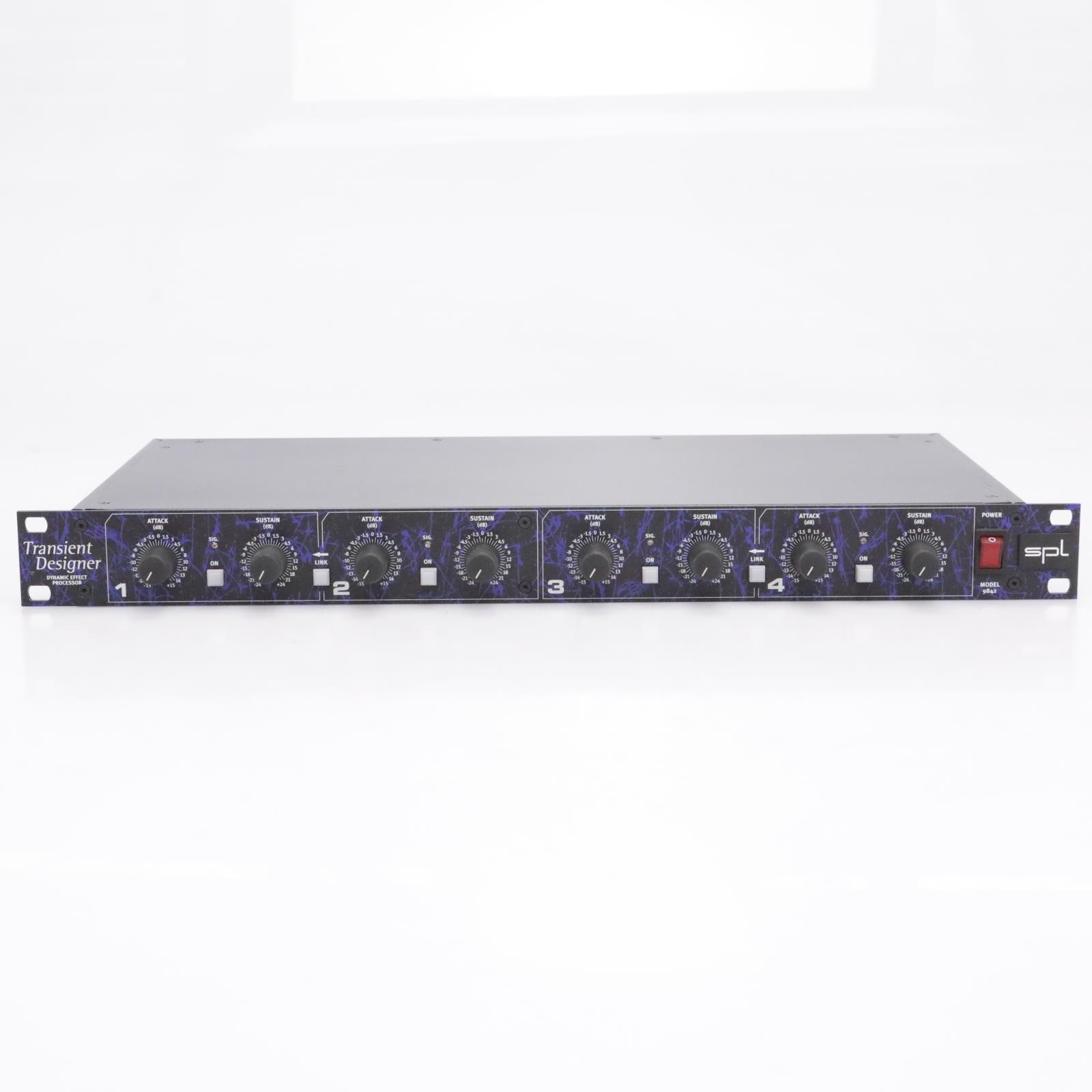 SPL Transient Designer 4 (Model 9842) 4-Channel Dynamic Effect Processor #43572